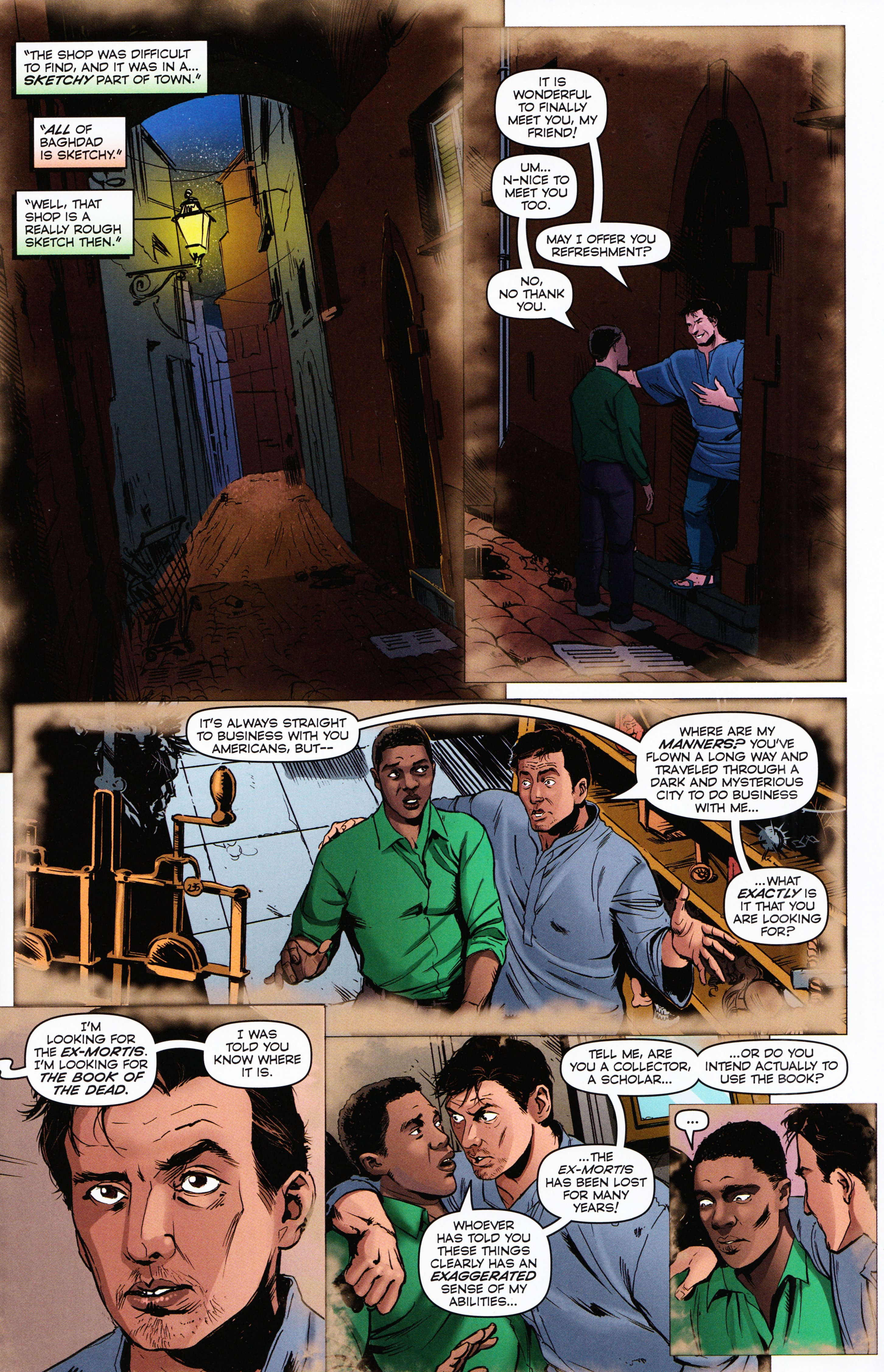 Read online Evil Dead 2: Tales of the Ex-Mortis comic -  Issue #2 - 7