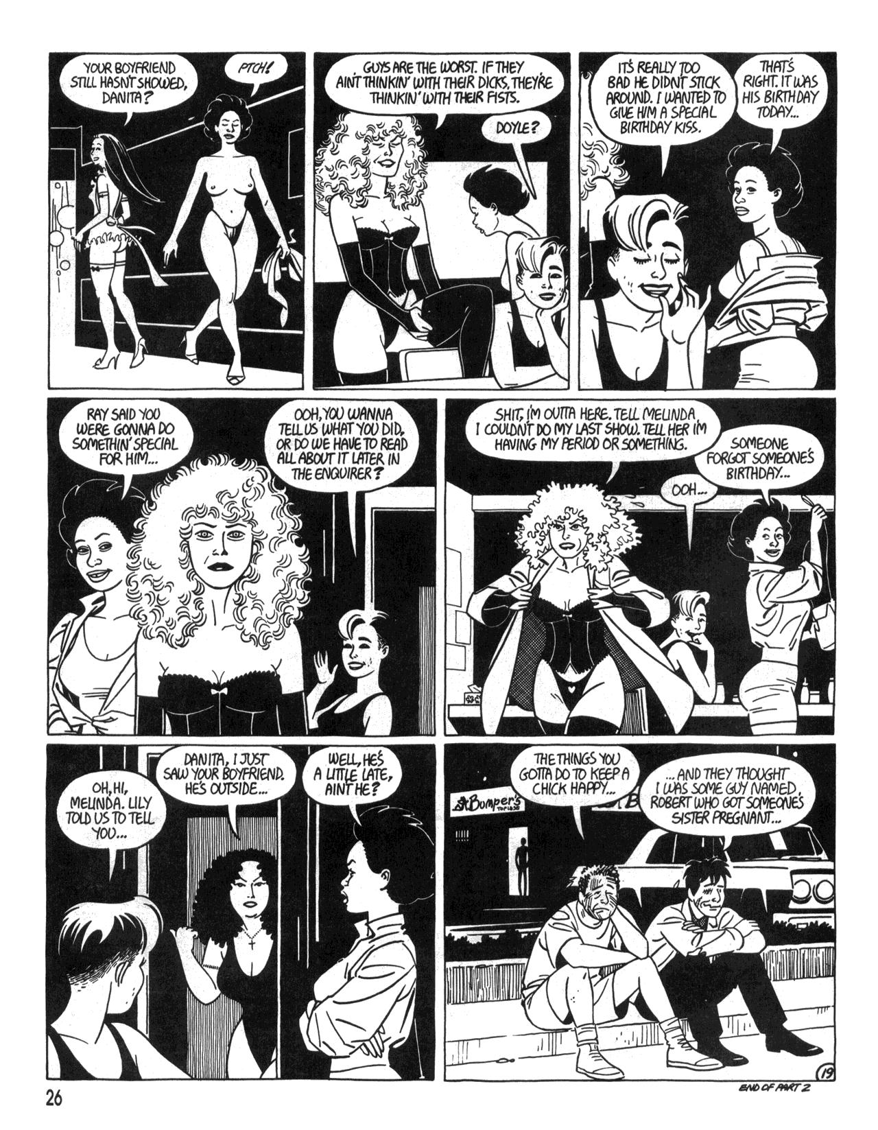 Love and Rockets (1982) #34 #34 - English 28