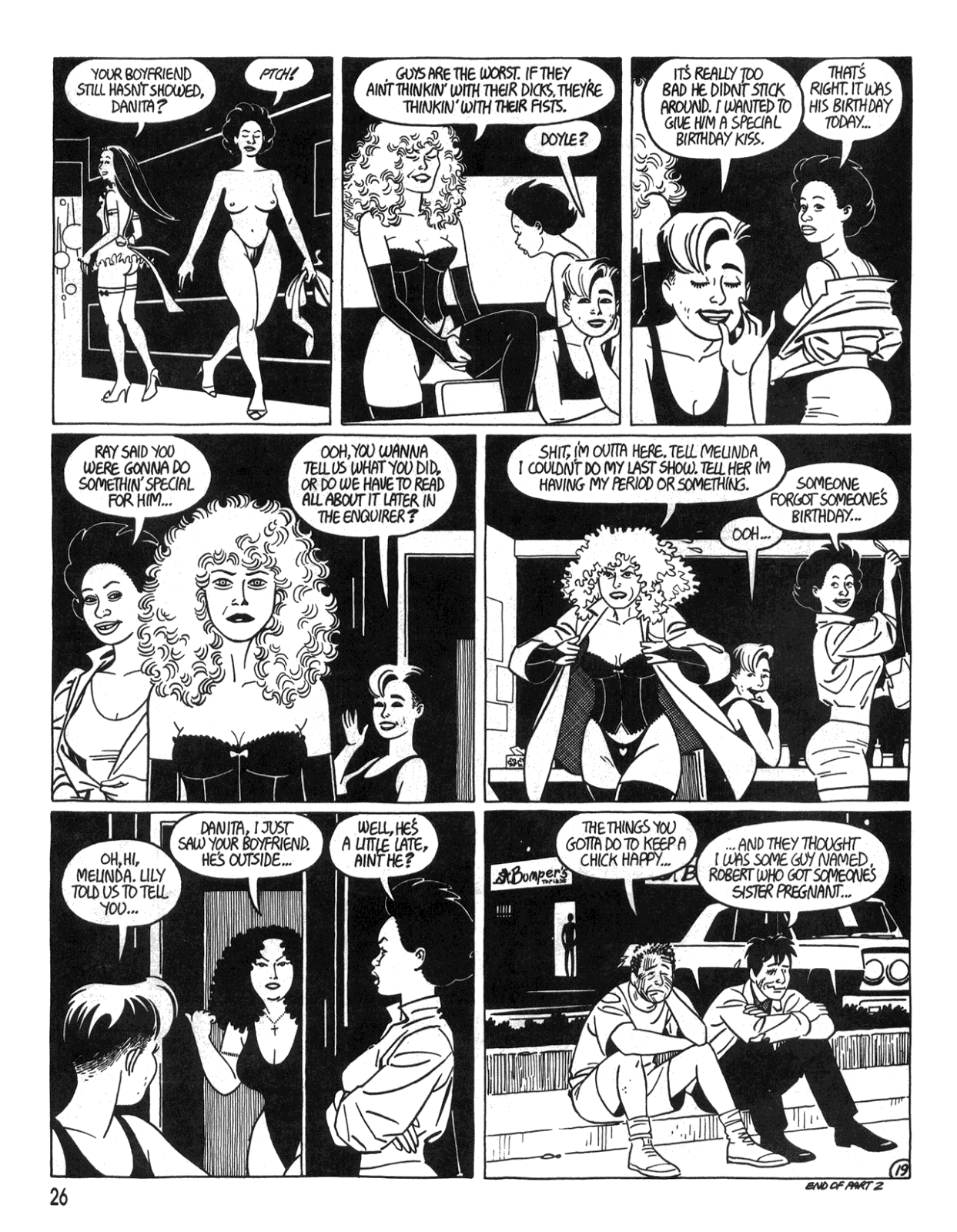 Love and Rockets (1982) Issue #34 #32 - English 28