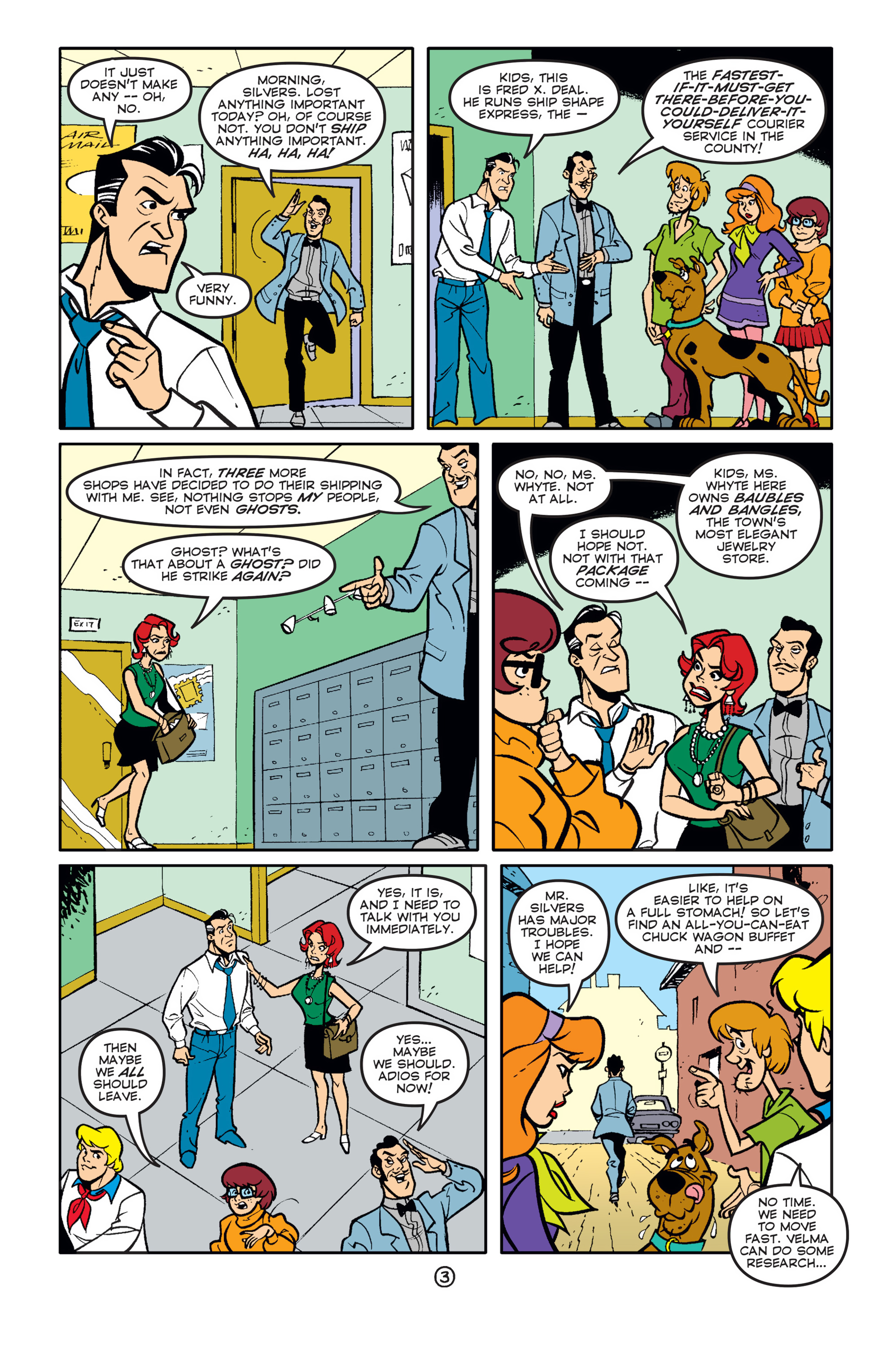 Read online Scooby-Doo (1997) comic -  Issue #58 - 4