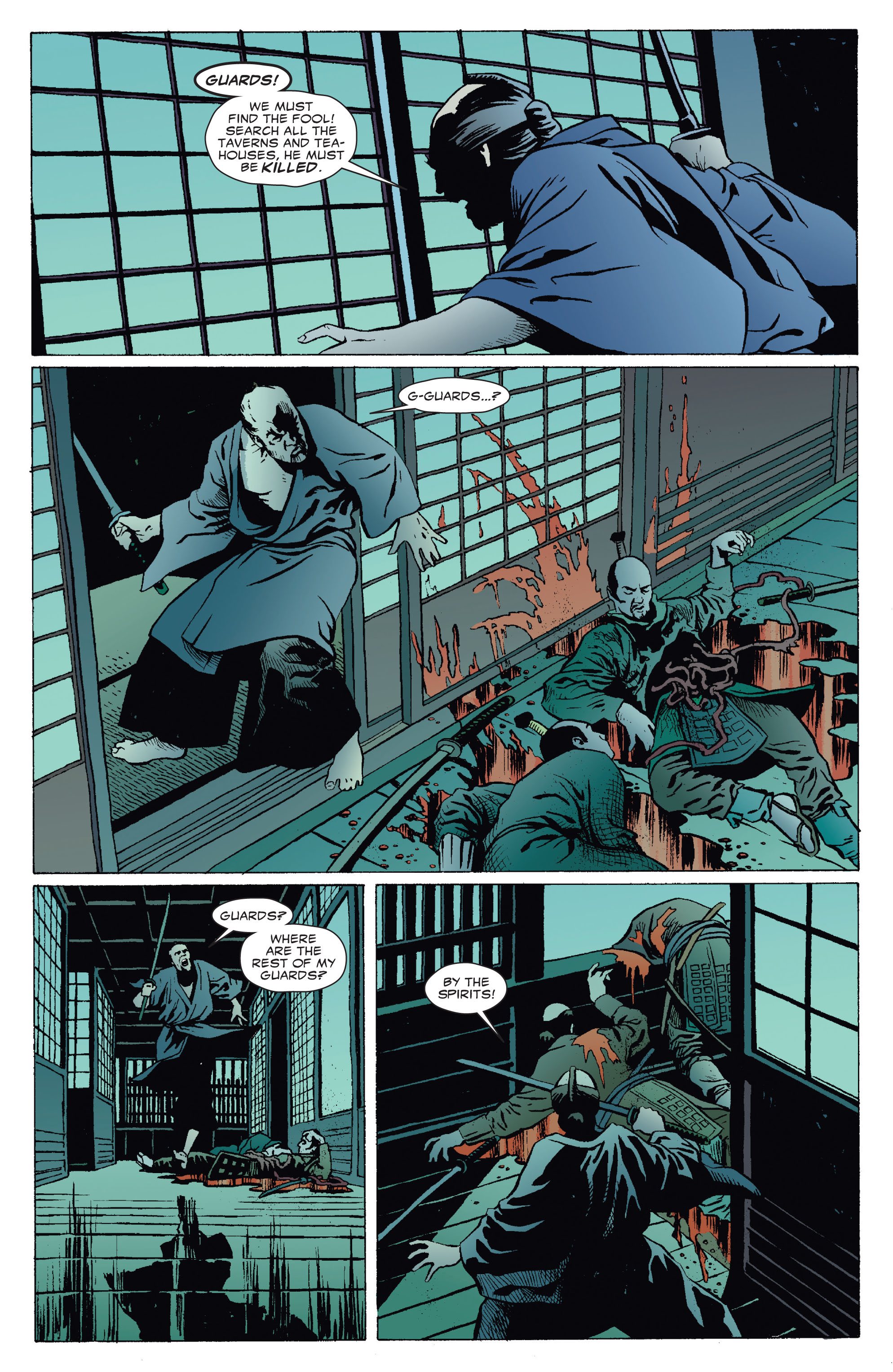 5 Ronin (2011) 5 Page 9