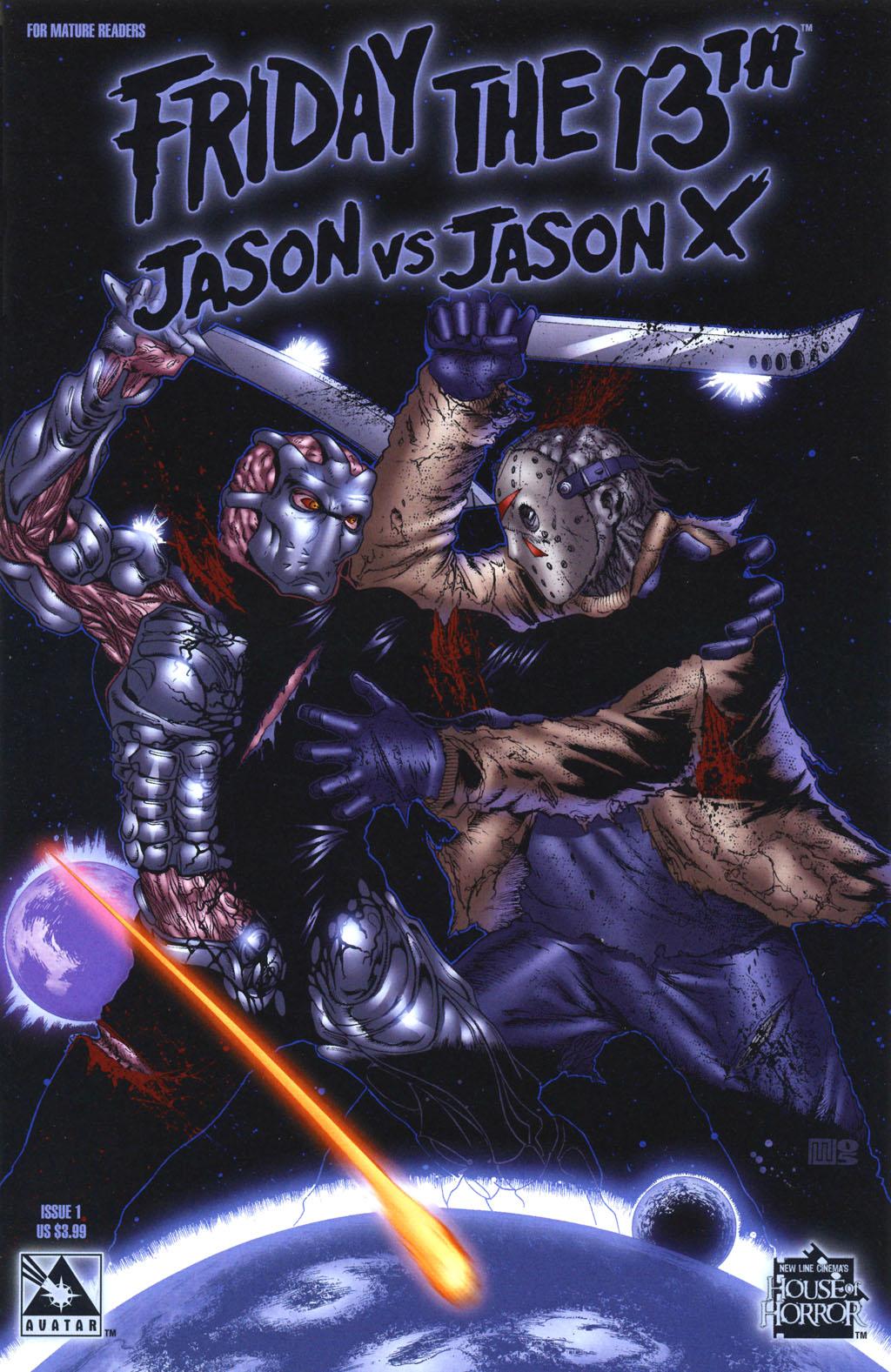 Friday The 13th: Jason Vs Jason X 1 Page 1