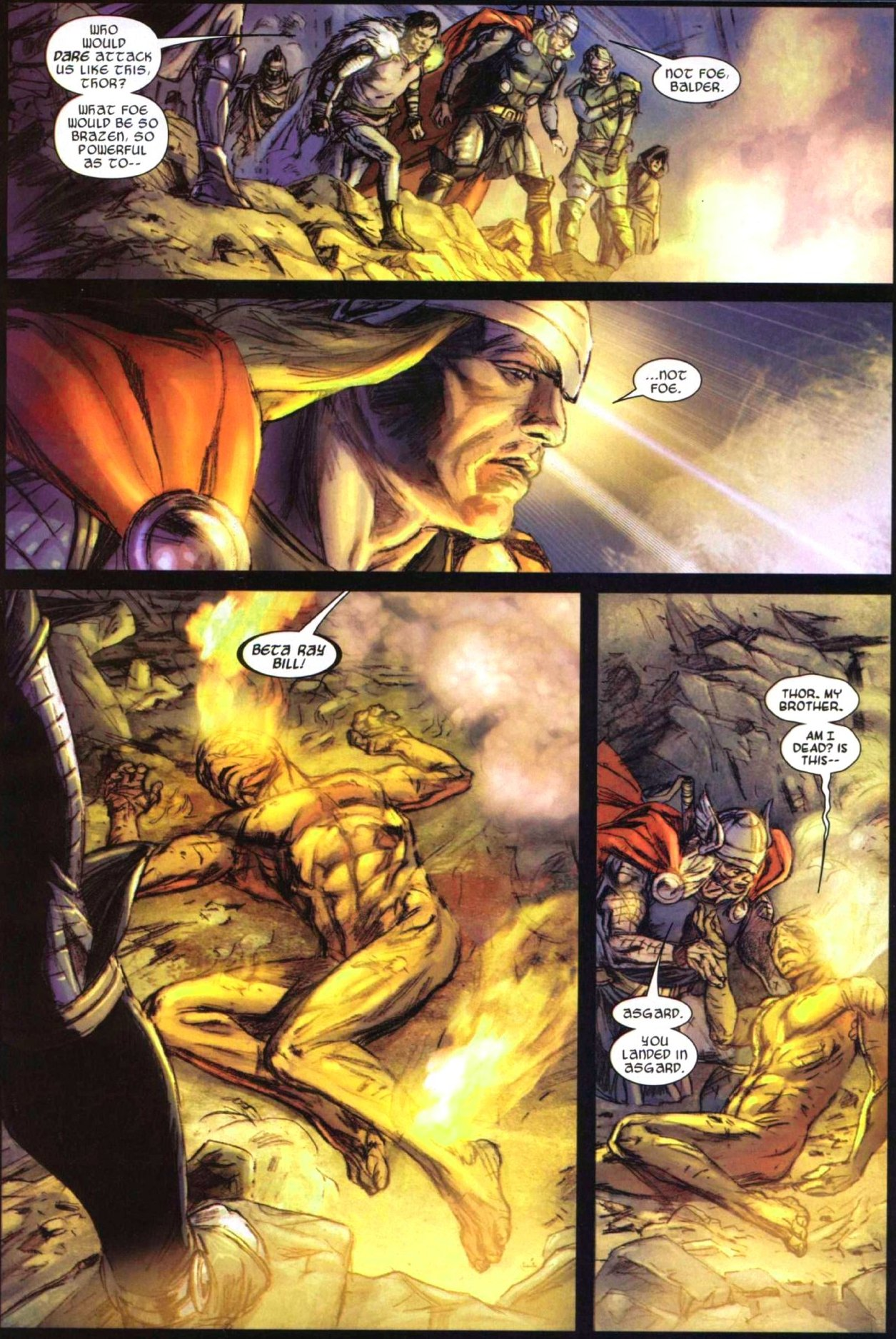Read online Secret Invasion: Thor comic -  Issue #1 - 8