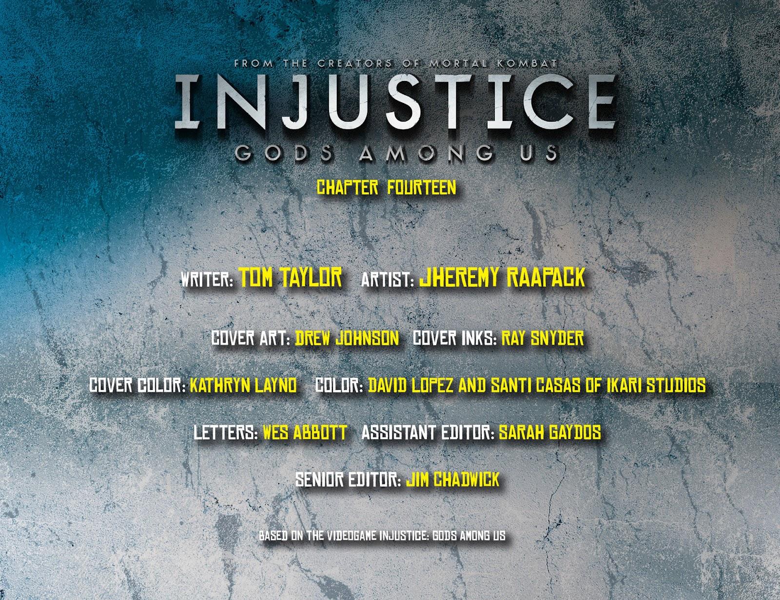Injustice: Gods Among Us [I] Issue #14 #15 - English 2