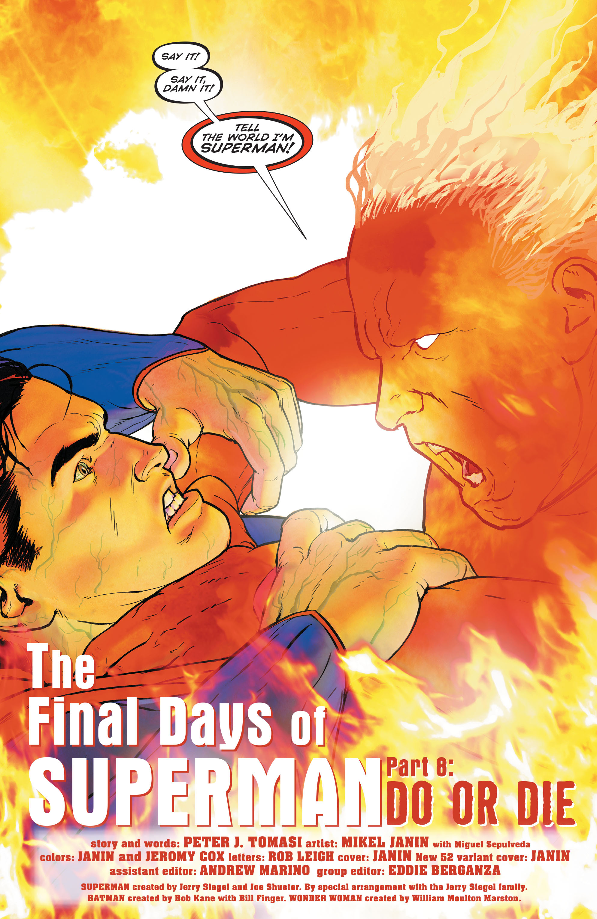 Read online Superman (2011) comic -  Issue #52 - 4