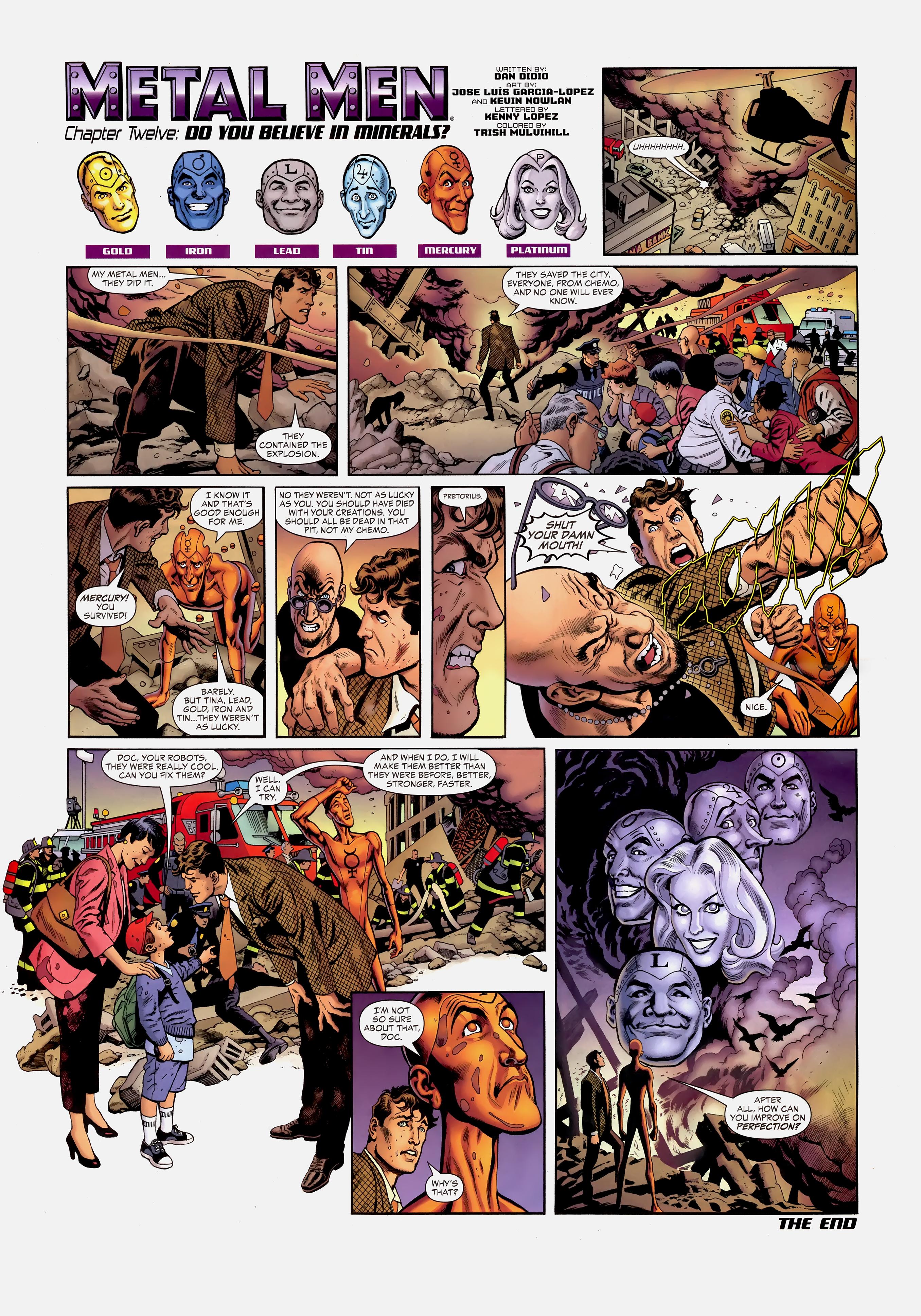 Read online Wednesday Comics comic -  Issue #12 - 11
