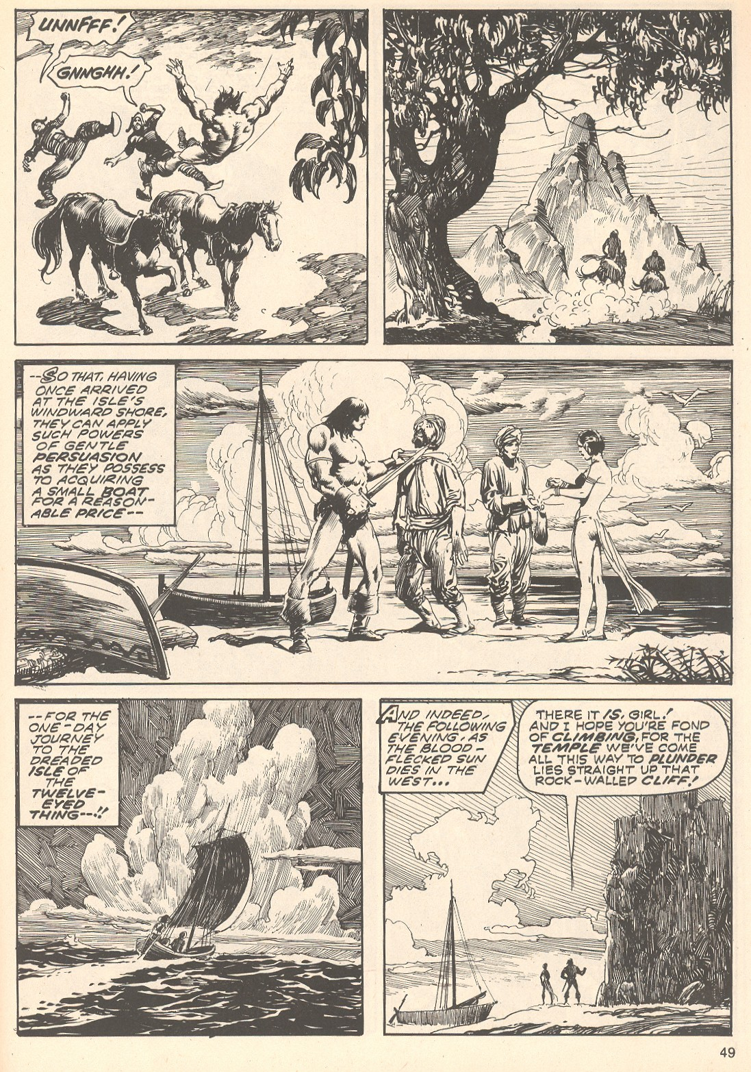 The Savage Sword Of Conan Issue #75 #76 - English 49