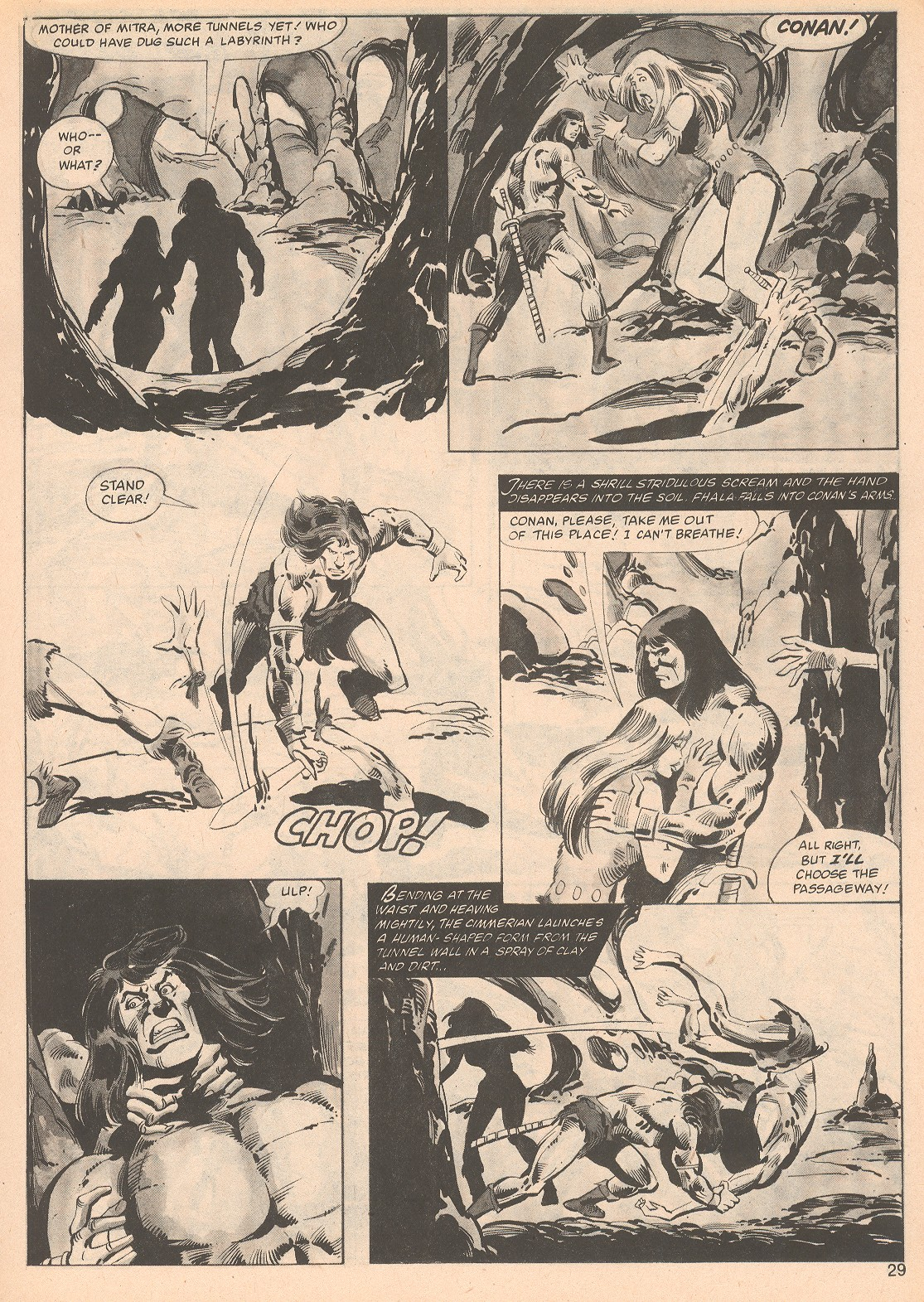 The Savage Sword Of Conan Issue #70 #71 - English 29