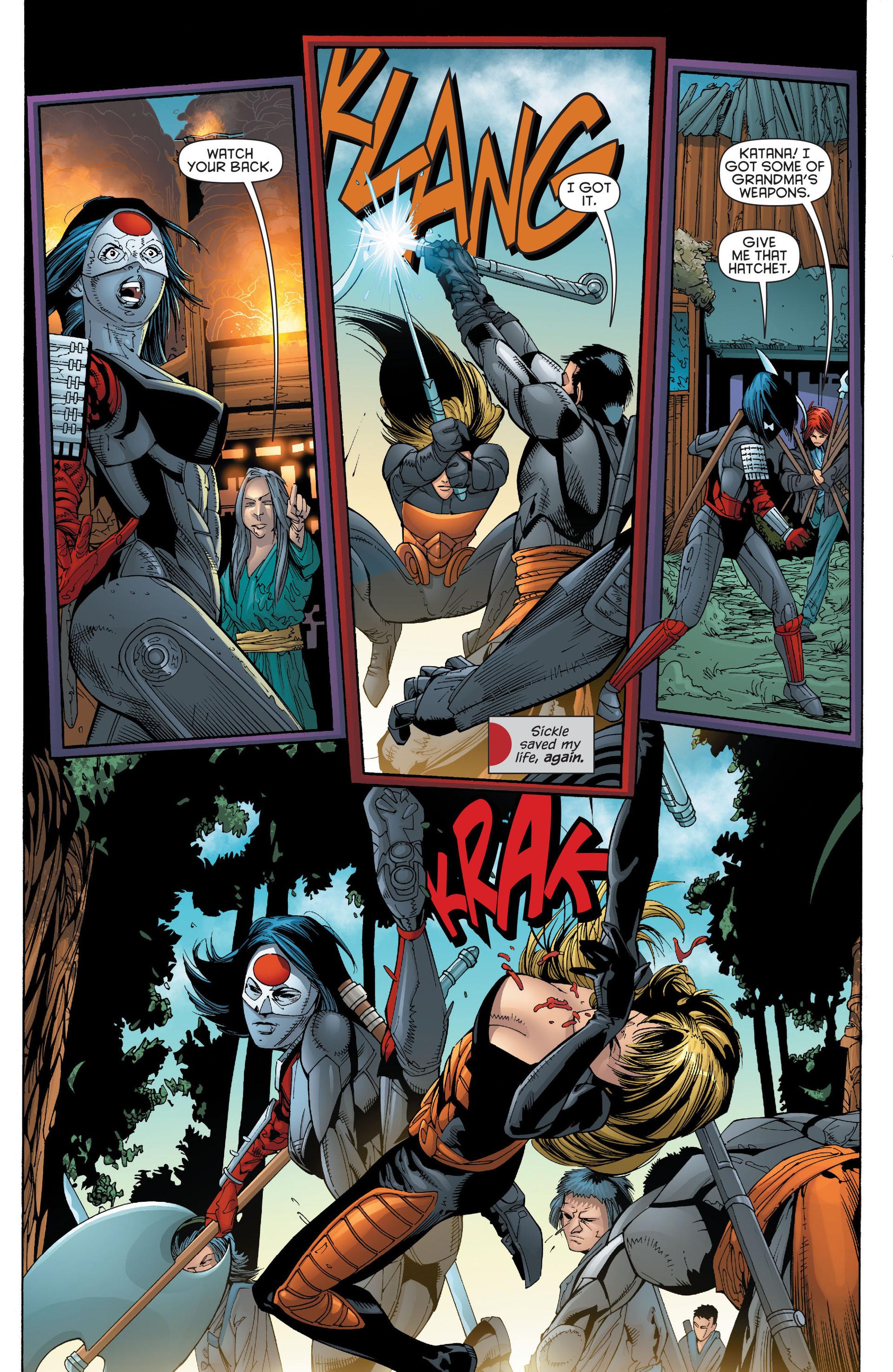 Read online Katana comic -  Issue #6 - 8