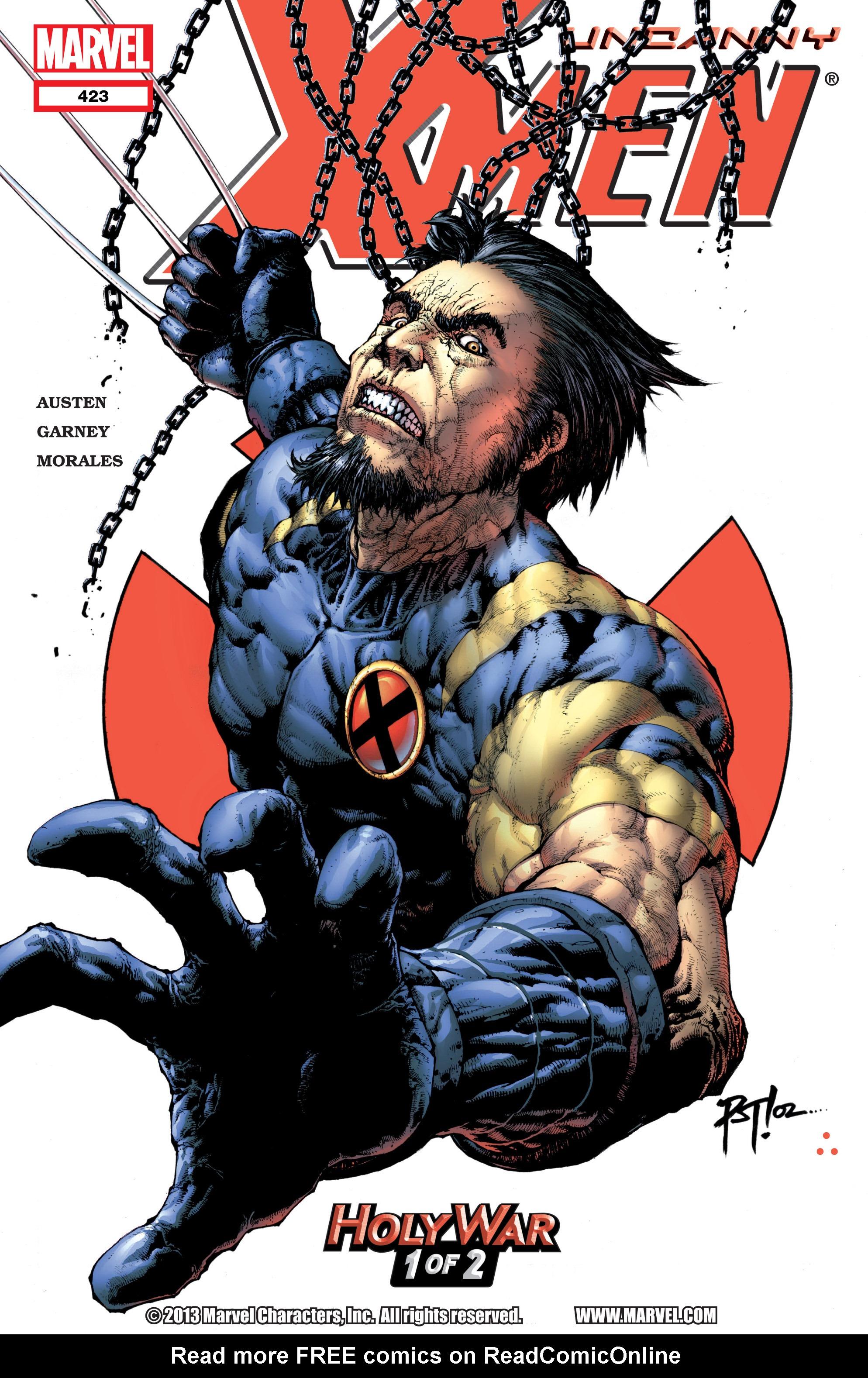 Uncanny X-Men (1963) 423 Page 1