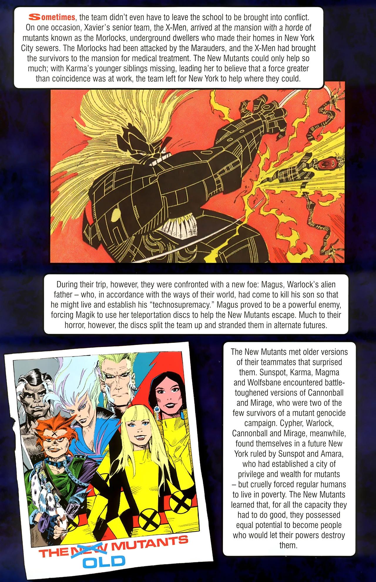 Read online New Mutants Saga comic -  Issue # Full - 24