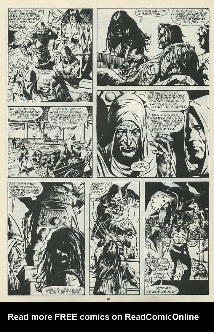 The Savage Sword Of Conan Issue #185 #186 - English 22