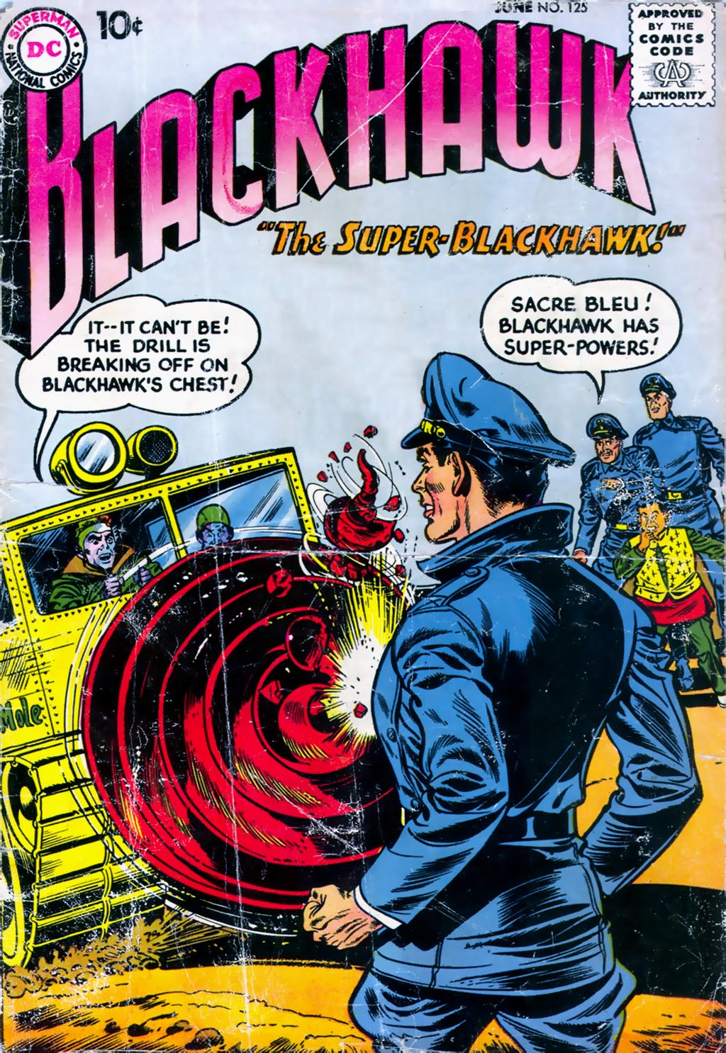 Blackhawk (1957) 125 Page 1