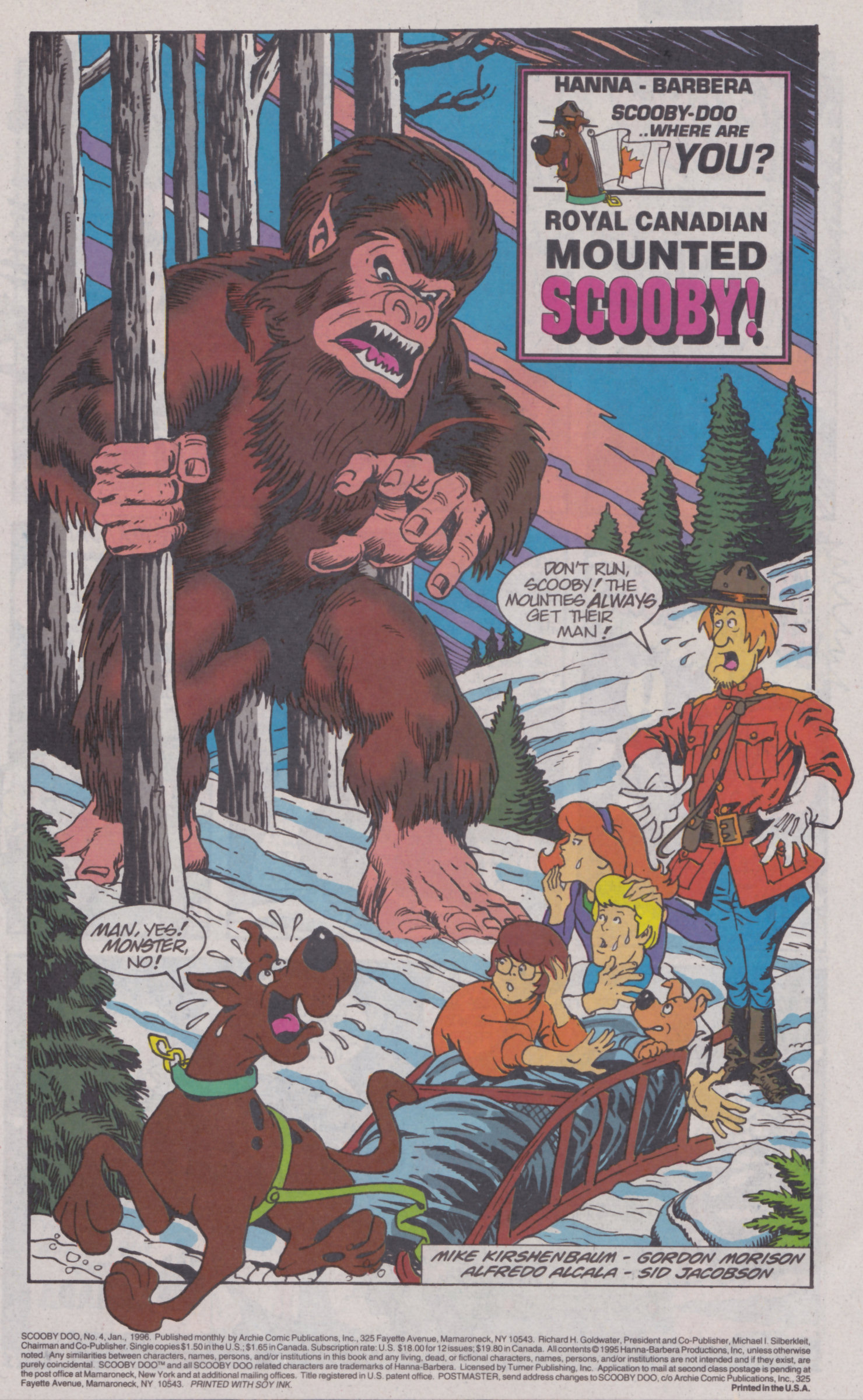 Read online Scooby-Doo (1995) comic -  Issue #4 - 2