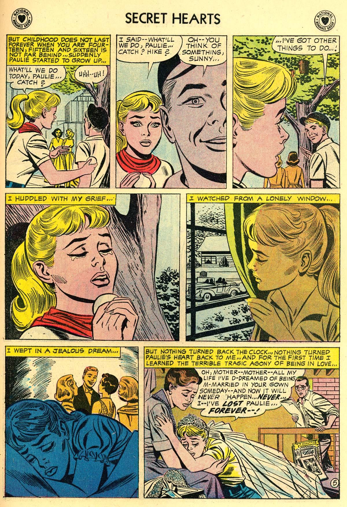 Read online Secret Hearts comic -  Issue #43 - 31