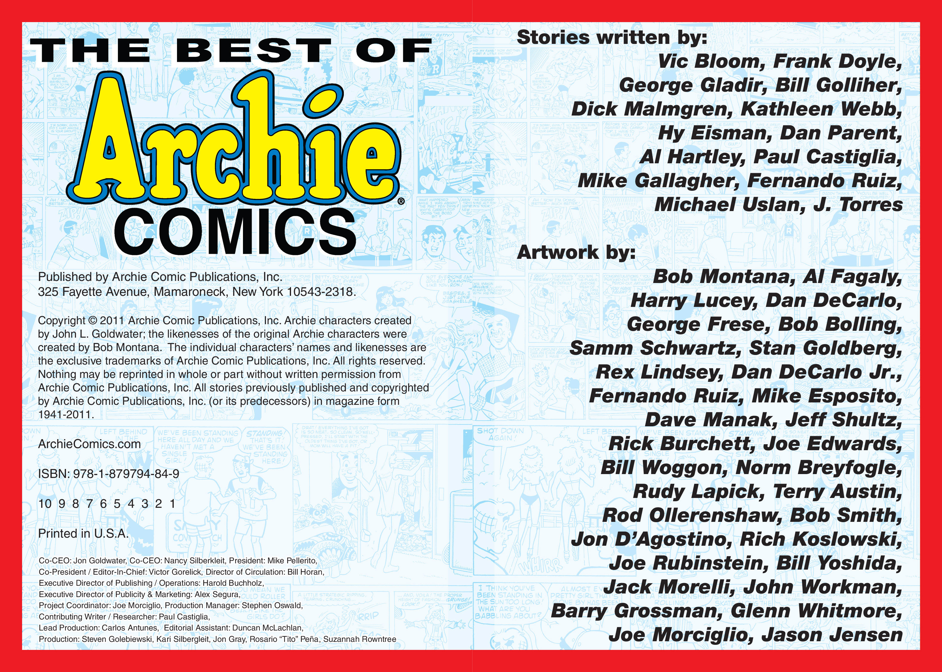 Read online The Best of Archie Comics comic -  Issue # TPB 1 (Part 1) - 4