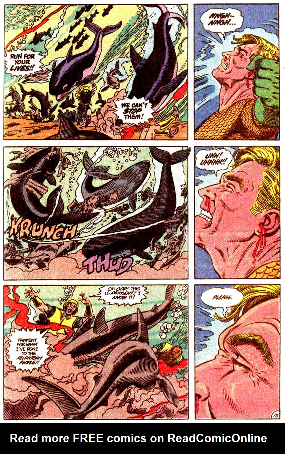 Aquaman (1989) Issue #5 #5 - English 16