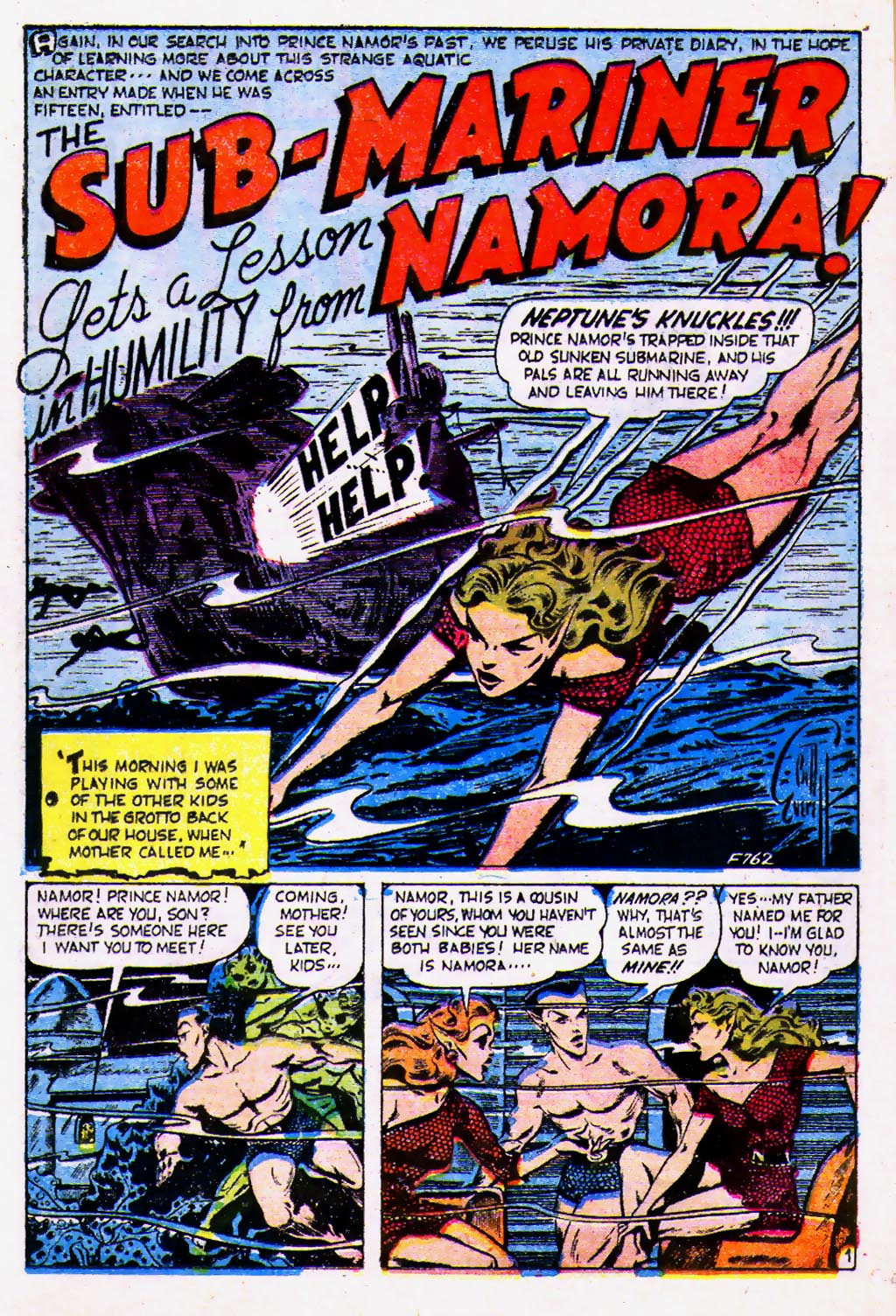Sub-Mariner Comics #39 #39 - English 11