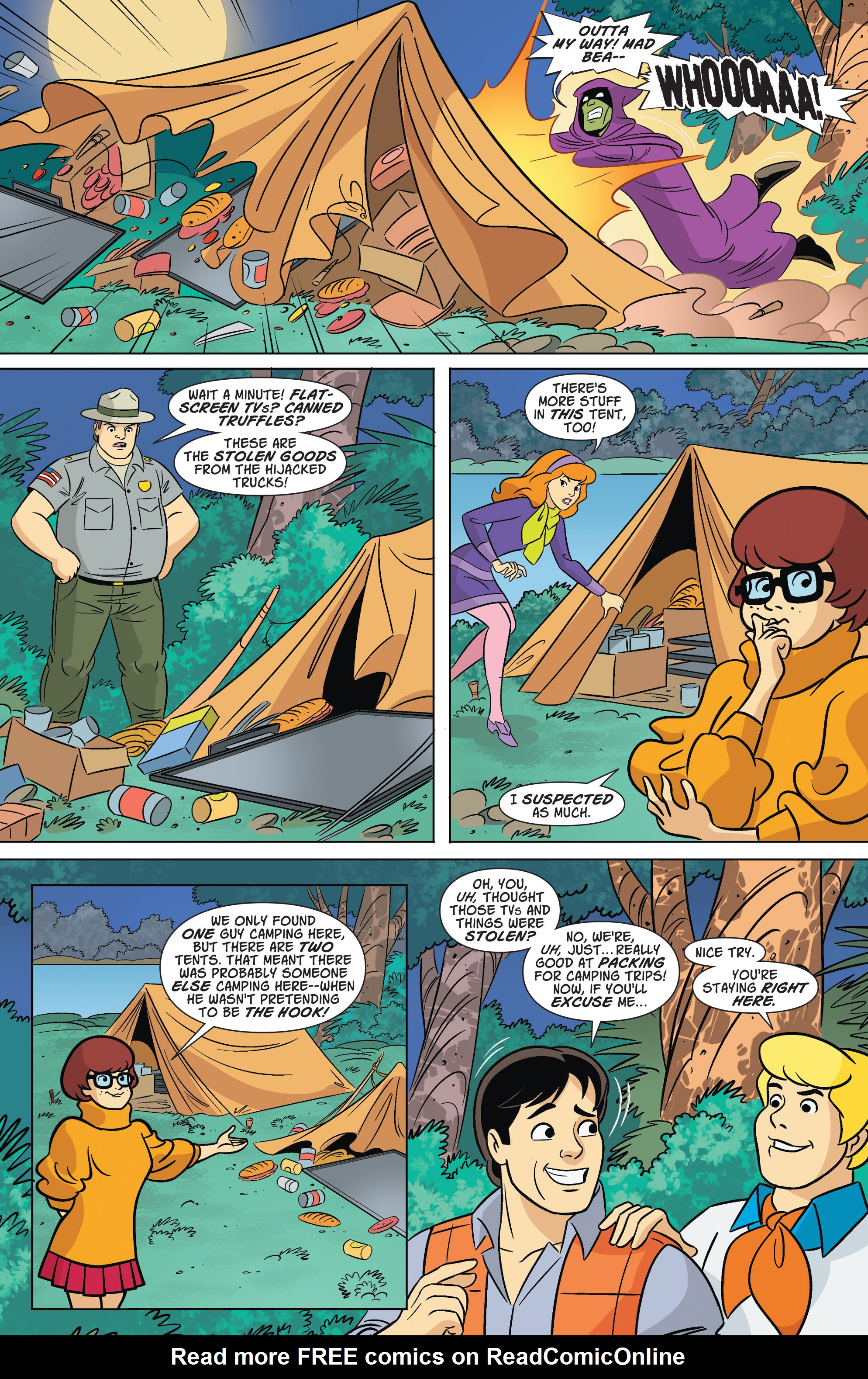 Read online Scooby-Doo: Where Are You? comic -  Issue #67 - 10