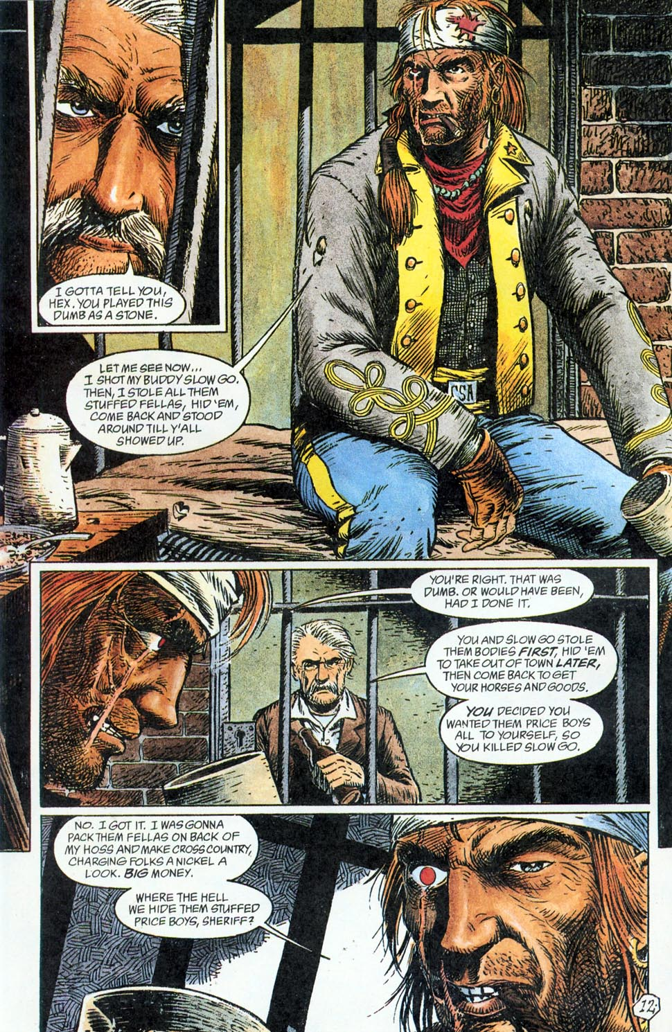 Jonah Hex: Two-Gun Mojo Issue #2 #2 - English 14