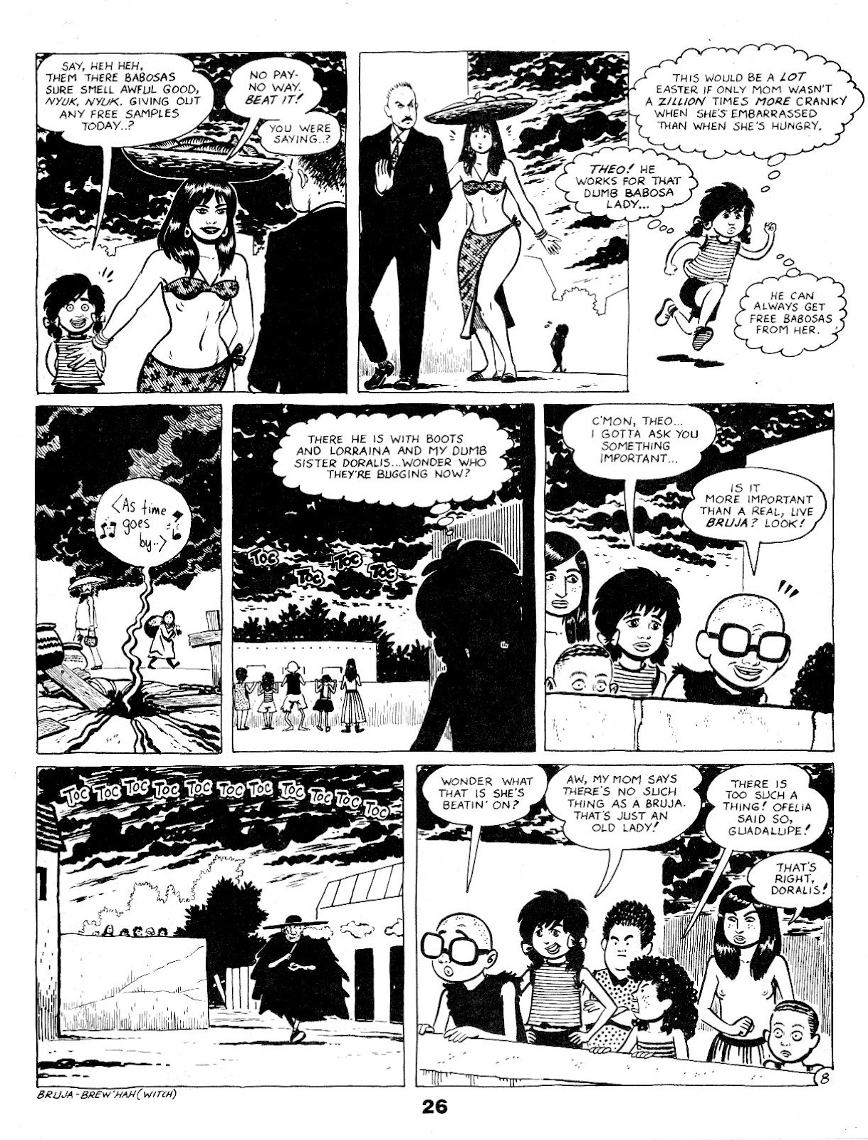 Love and Rockets (1982) Issue #17 #16 - English 28