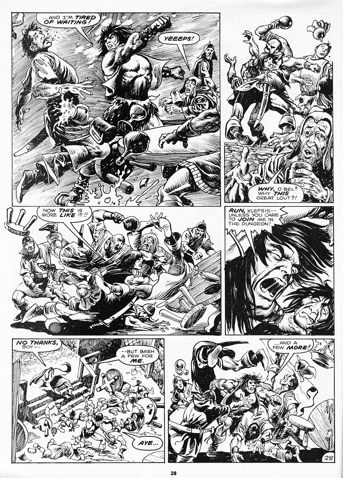 The Savage Sword Of Conan Issue #180 #181 - English 30