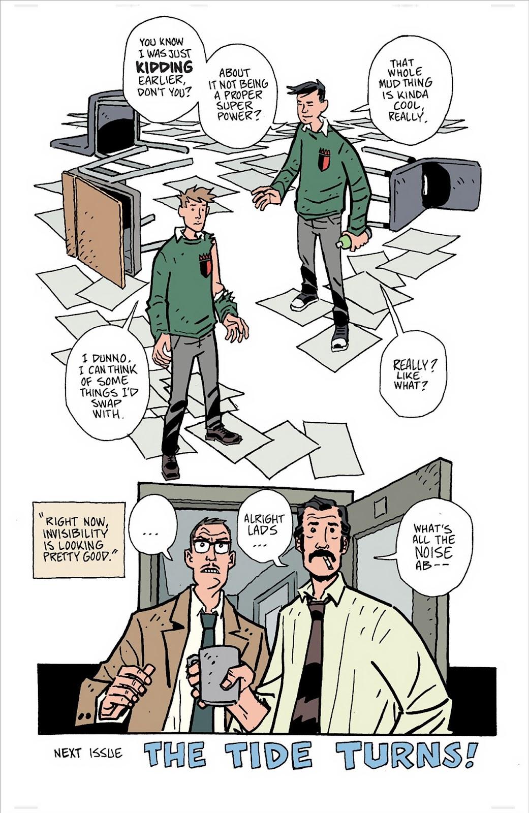 Mudman Issue #3 #3 - English 28