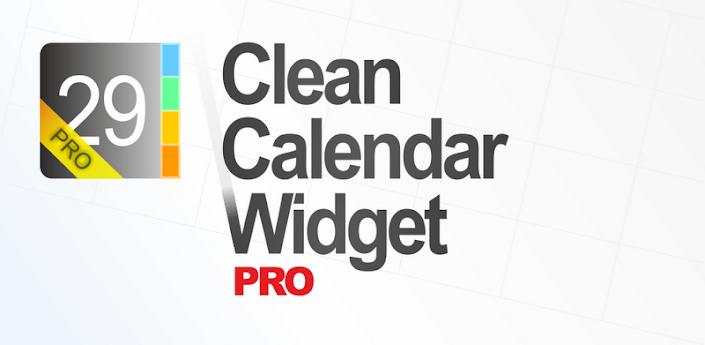Clean Calendar Widget Pro v4.14
