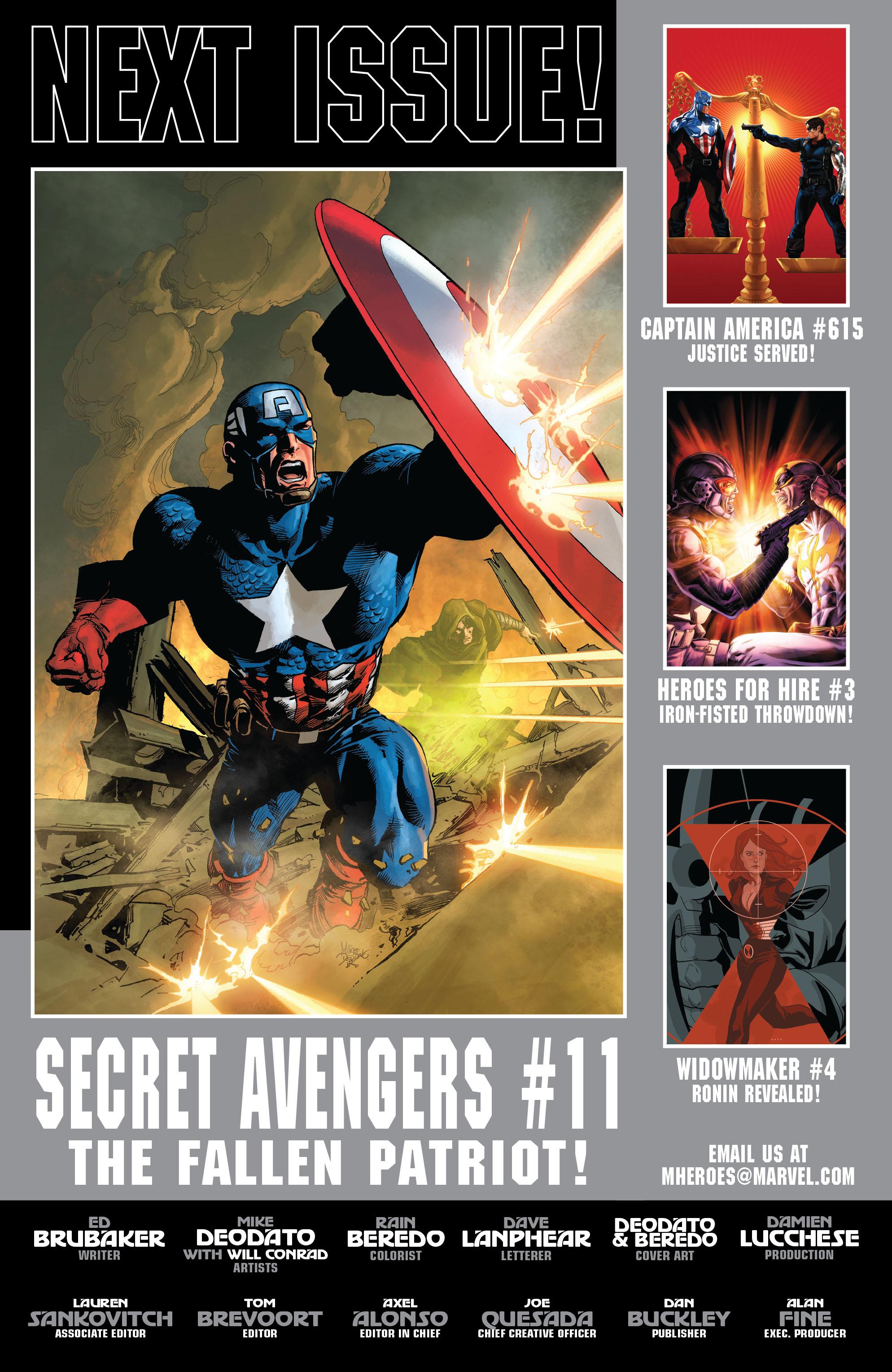 Read online Secret Avengers (2010) comic -  Issue #10 - 25