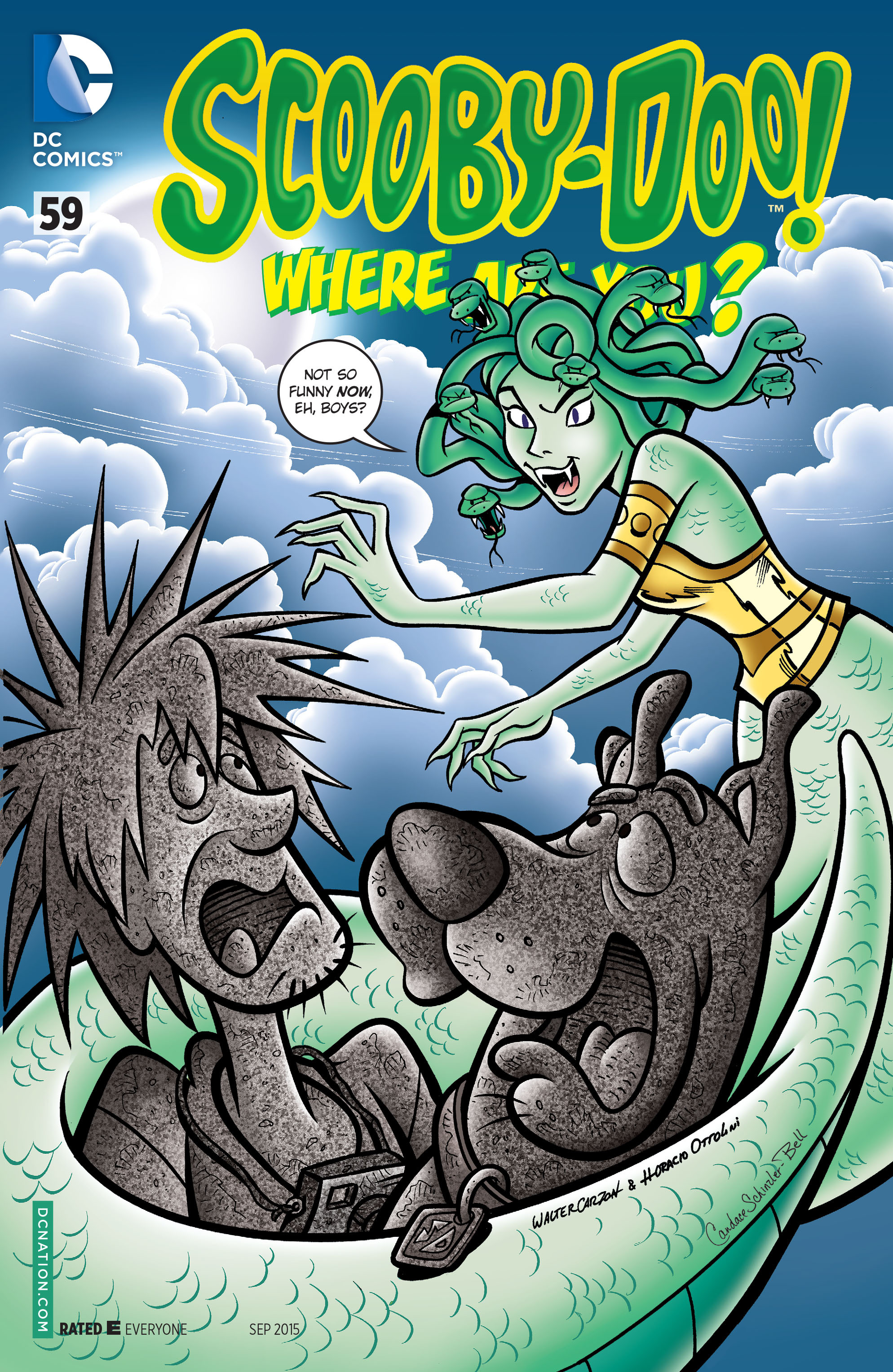Read online Scooby-Doo: Where Are You? comic -  Issue #59 - 1