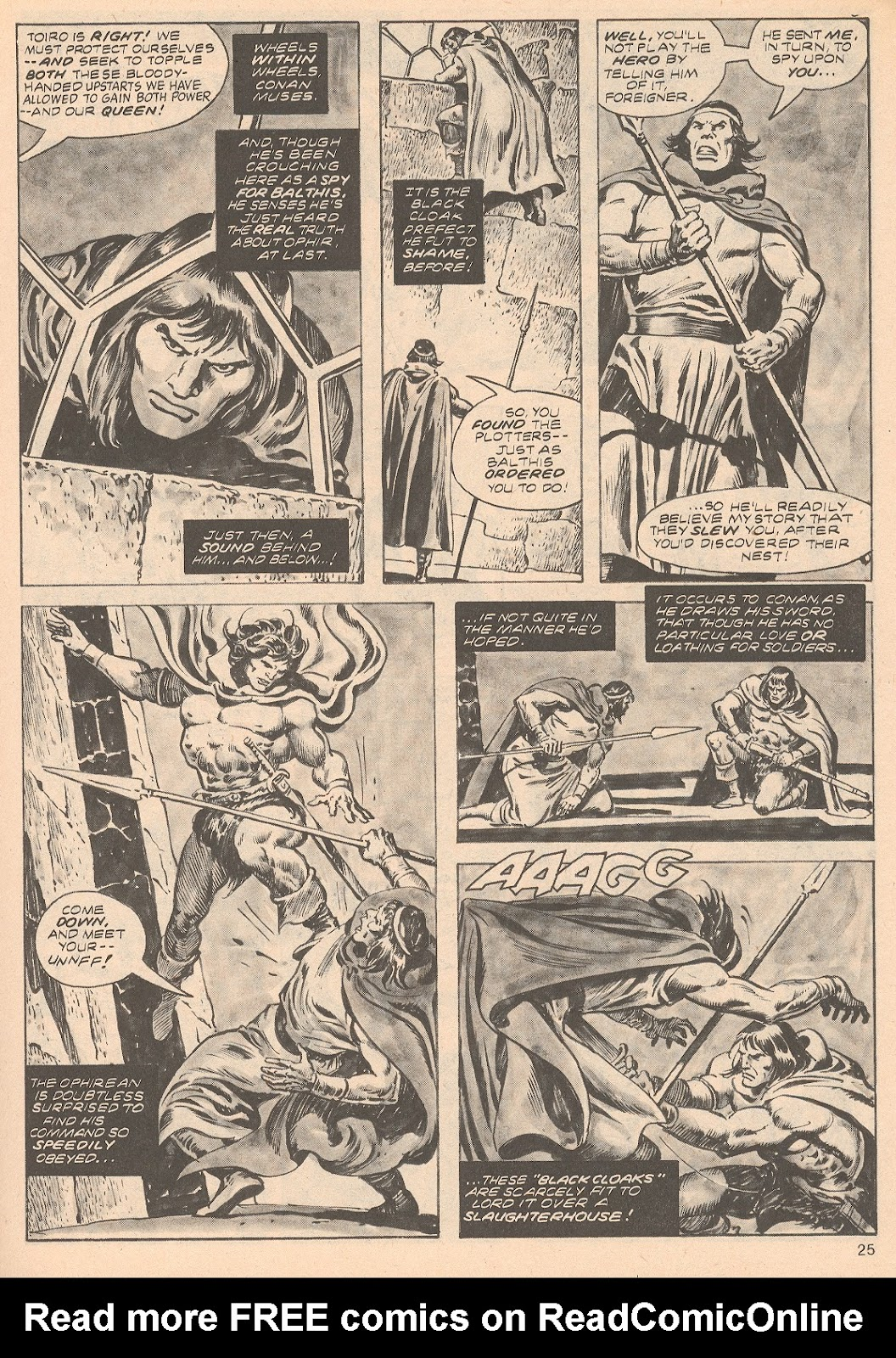 The Savage Sword Of Conan Issue #68 #69 - English 25