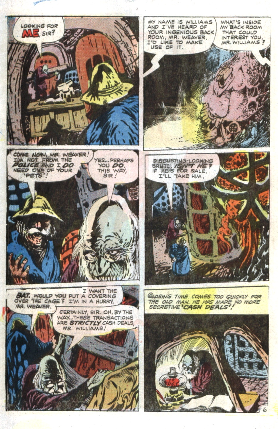 Read online Scary Tales comic -  Issue #36 - 31