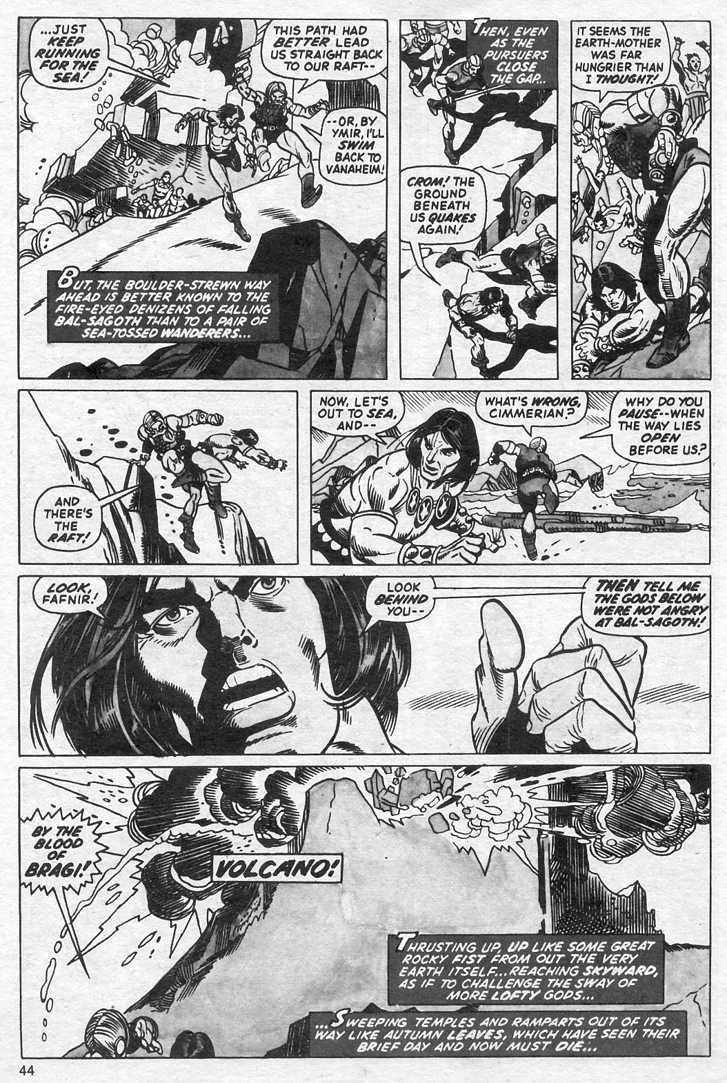 The Savage Sword Of Conan Issue #13 #14 - English 44