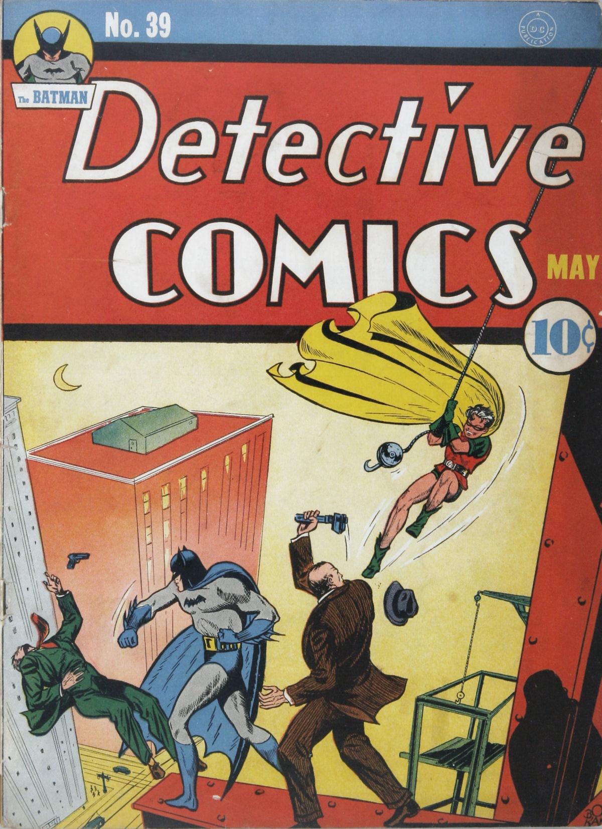 Detective Comics (1937) 39 Page 1