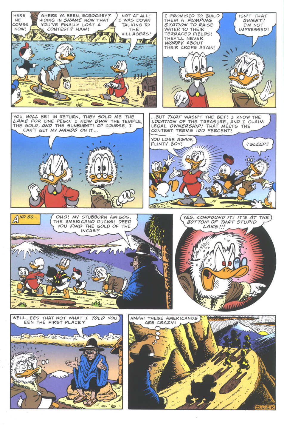 Uncle Scrooge (1953) Issue #335 #335 - English 28