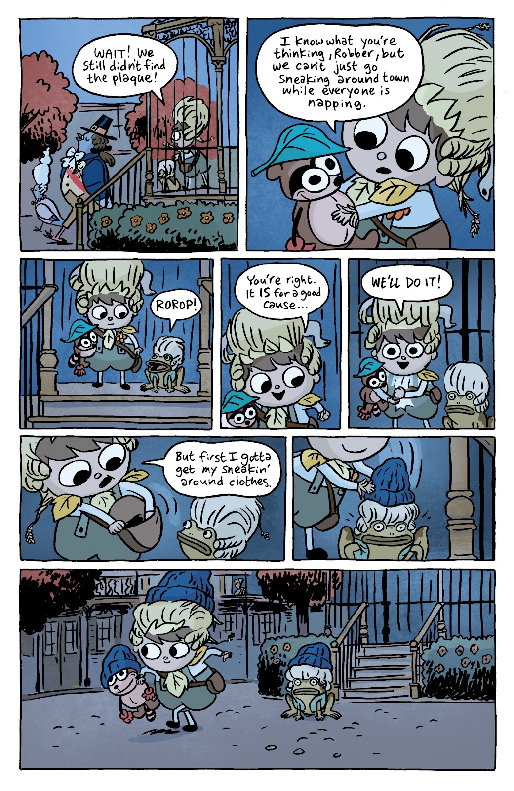 Over the Garden Wall (2016) Issue #7 #7 - English 9