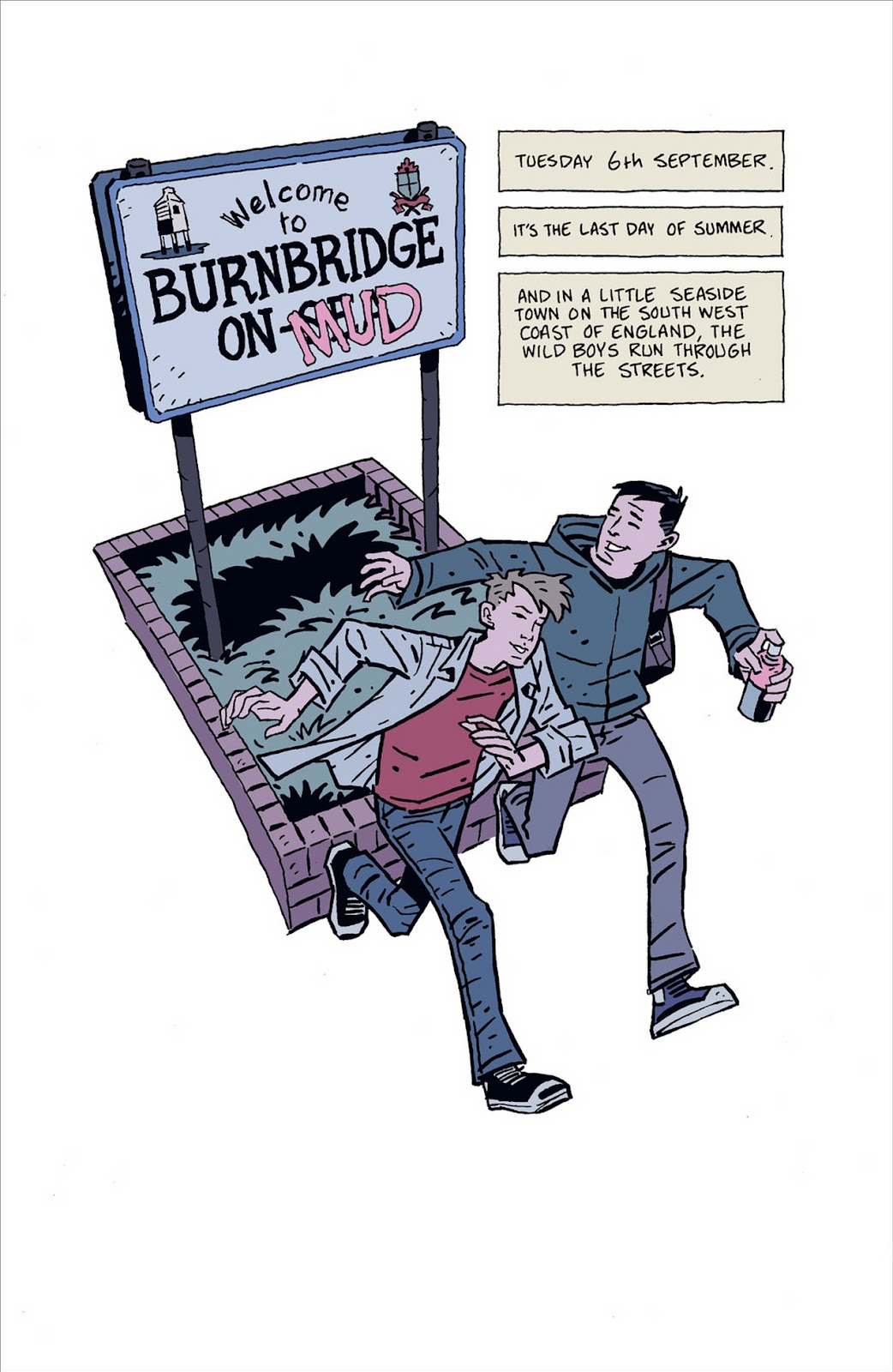Mudman Issue #1 #1 - English 4