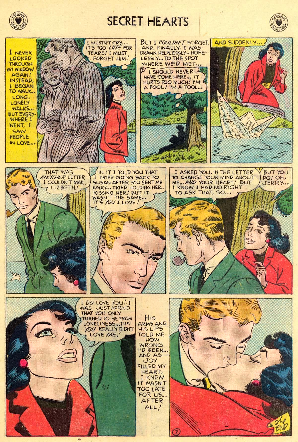 Read online Secret Hearts comic -  Issue #43 - 9