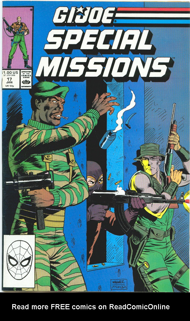 G.I. Joe Special Missions 17 Page 1