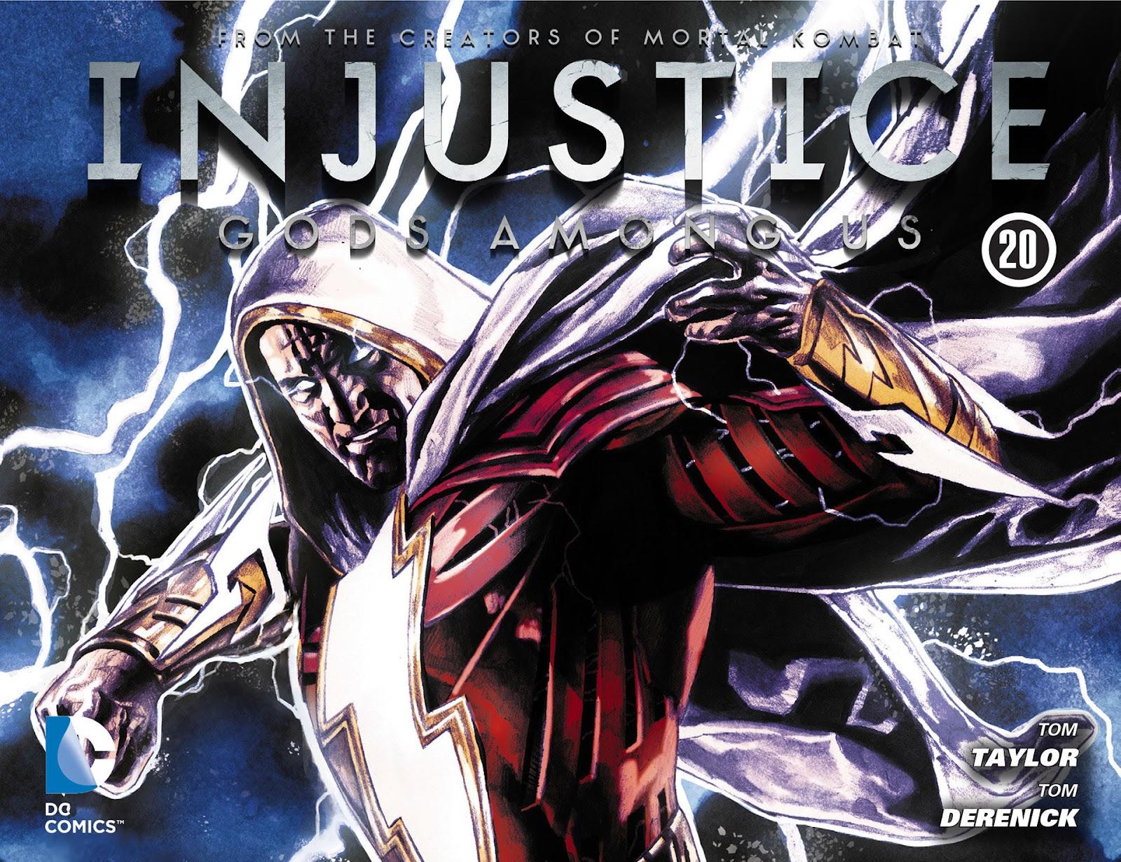 Injustice: Gods Among Us [I] Issue #20 #21 - English 1