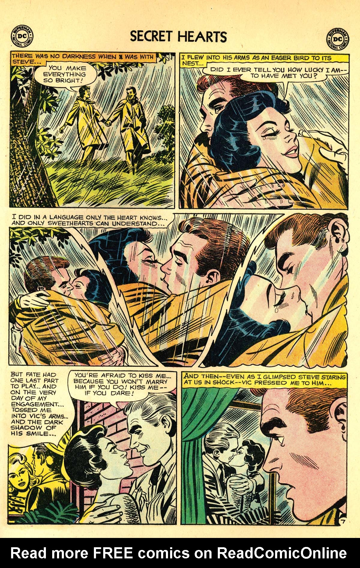 Read online Secret Hearts comic -  Issue #89 - 33