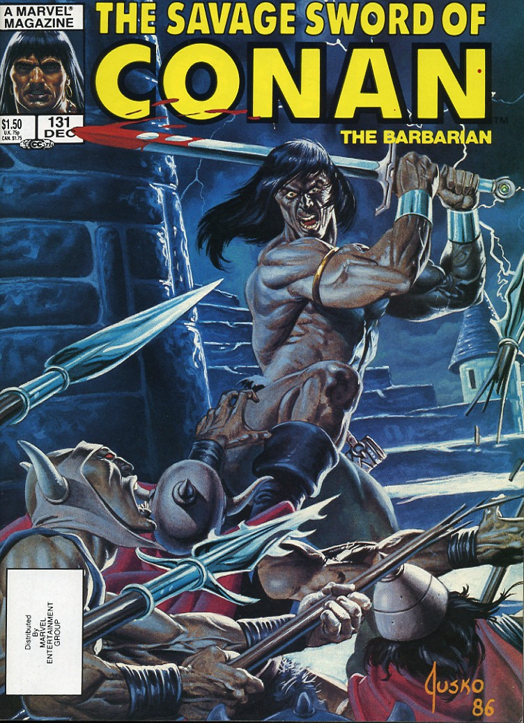 The Savage Sword Of Conan Issue #131 #132 - English 1