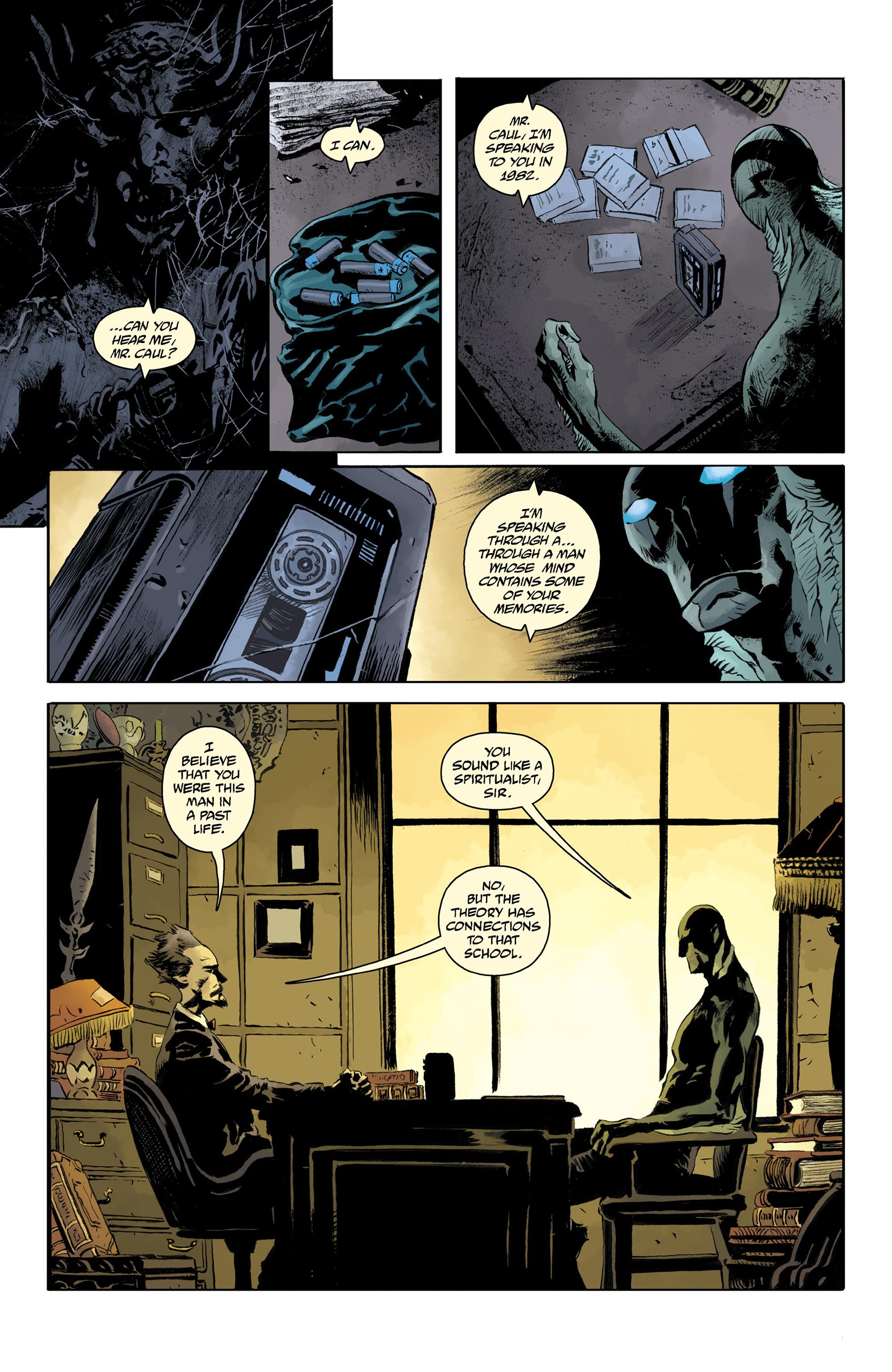 Read online Abe Sapien comic -  Issue #32 - 11
