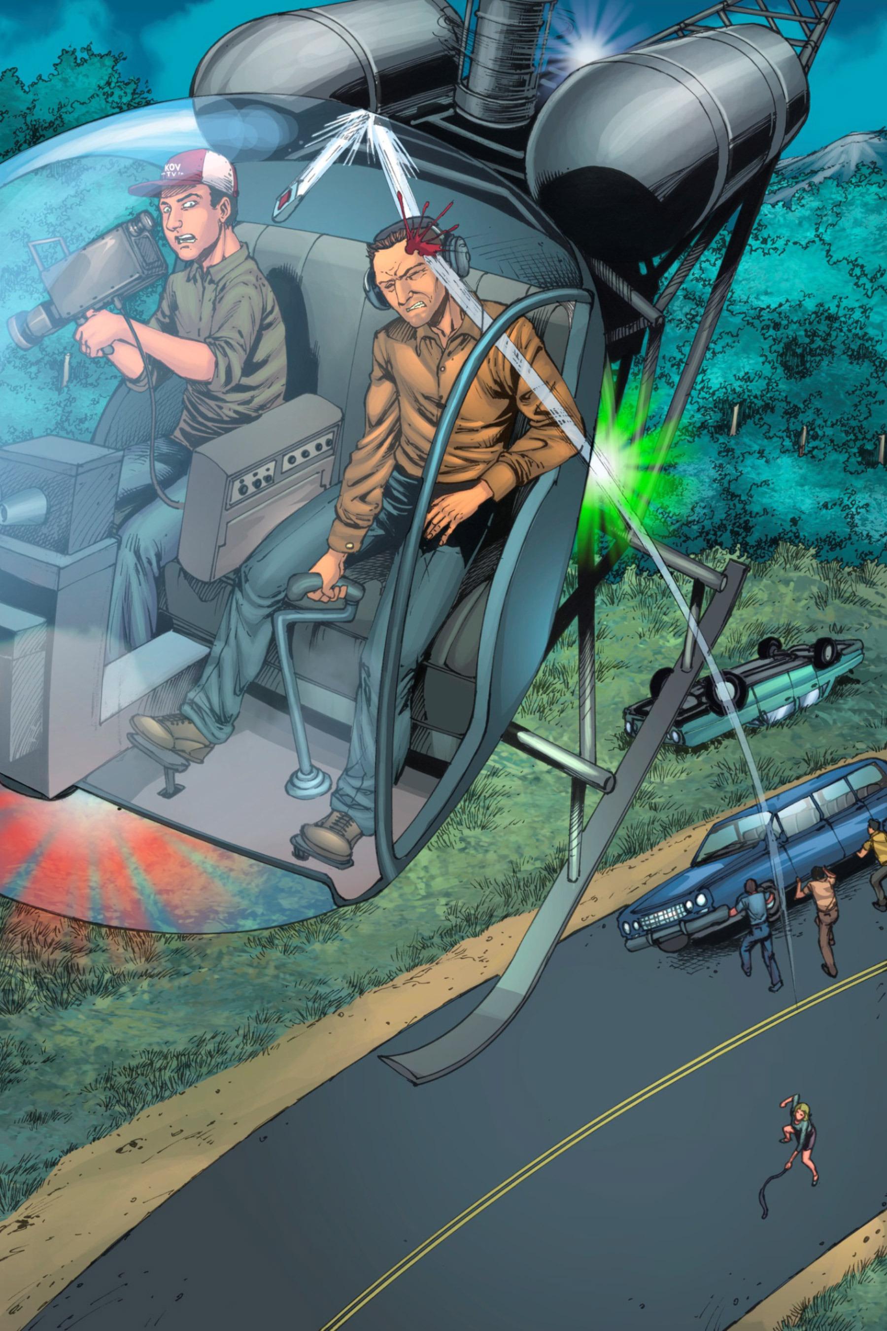 Read online Z-Men comic -  Issue #3 - 46