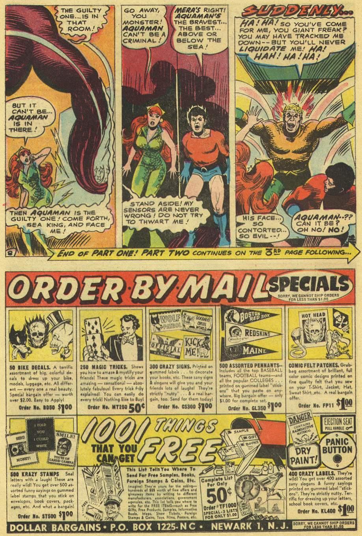 Aquaman (1962) Issue #38 #38 - English 12