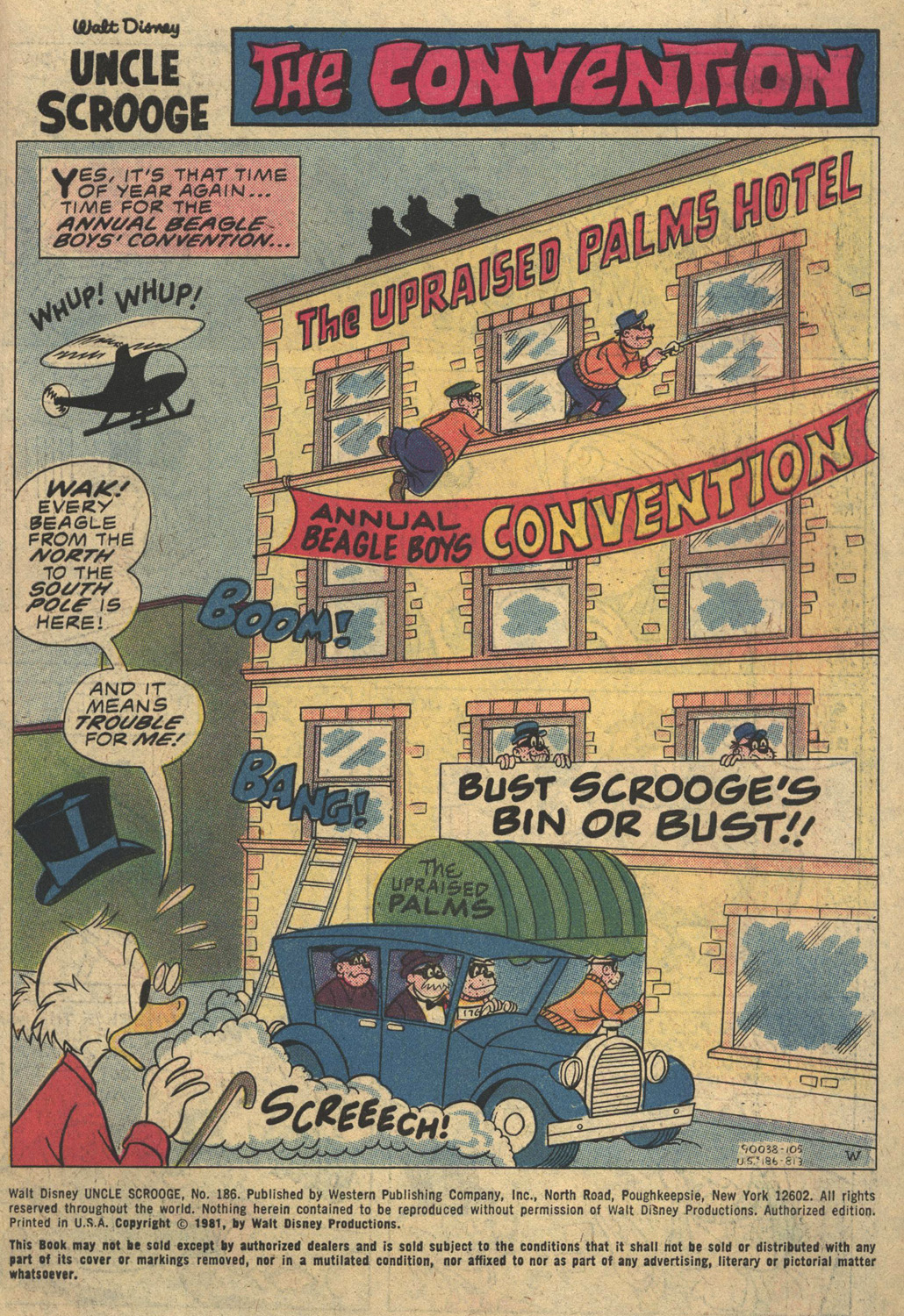 Uncle Scrooge (1953) Issue #186 #186 - English 3