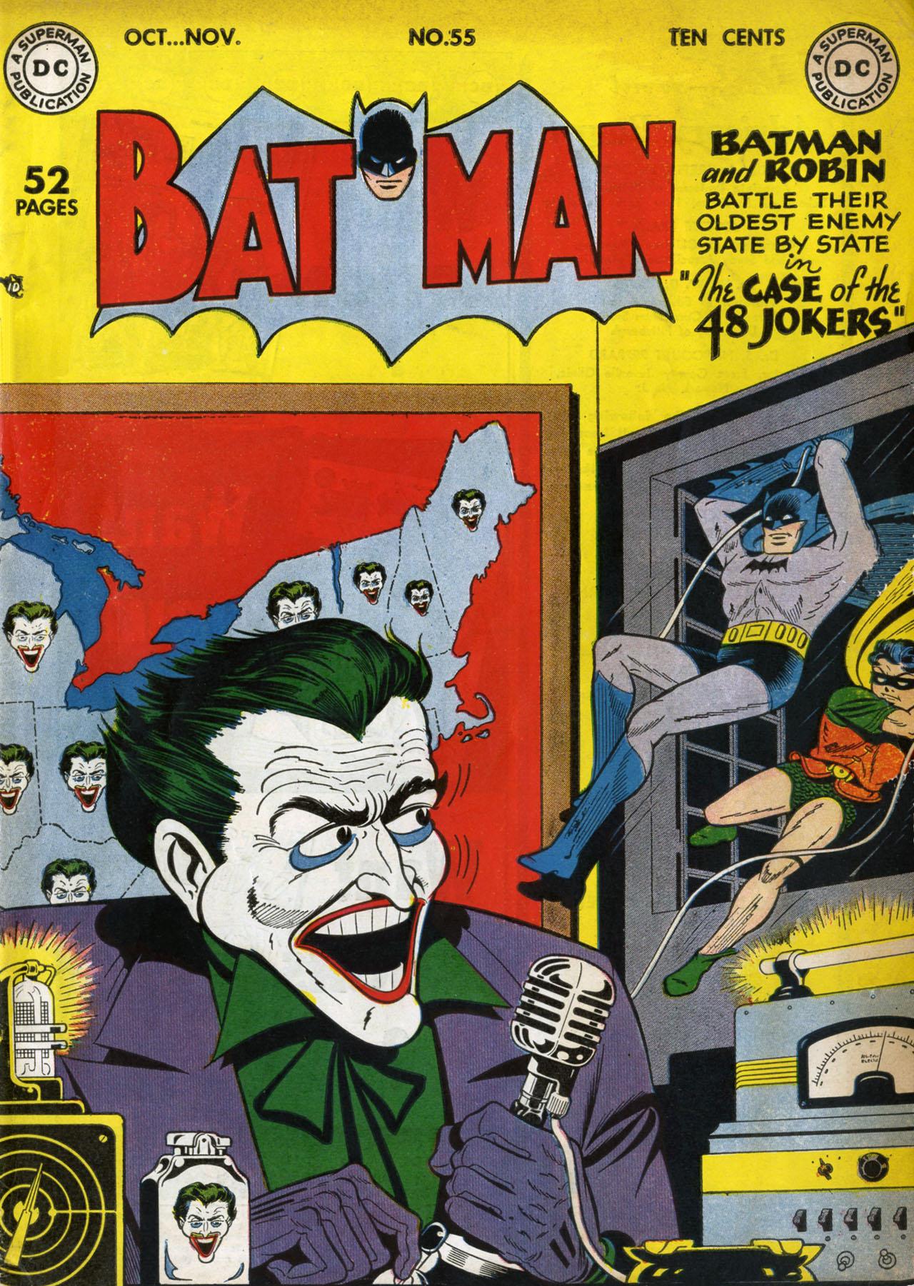Batman (1940) 55 Page 1