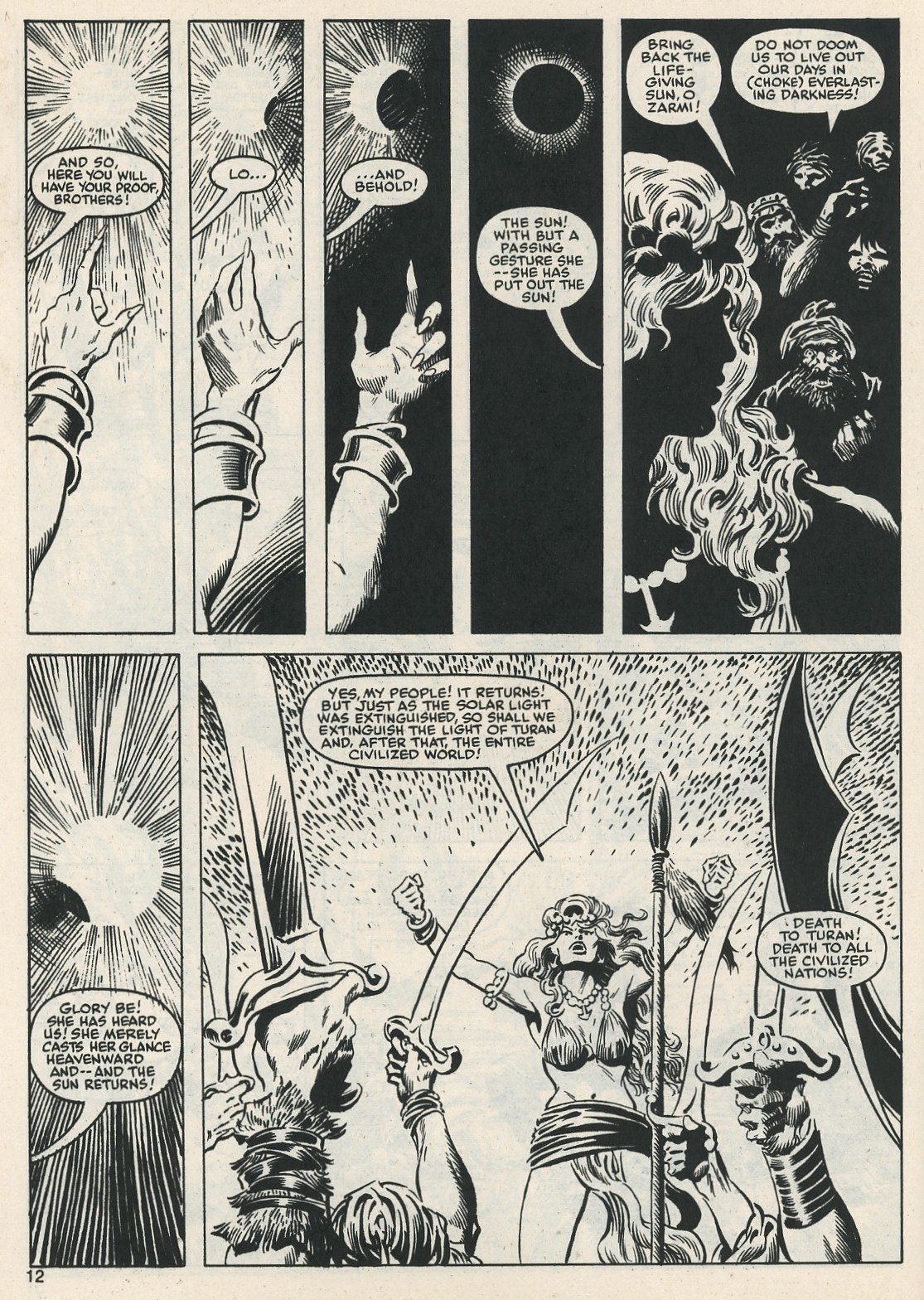 The Savage Sword Of Conan Issue #112 #113 - English 12