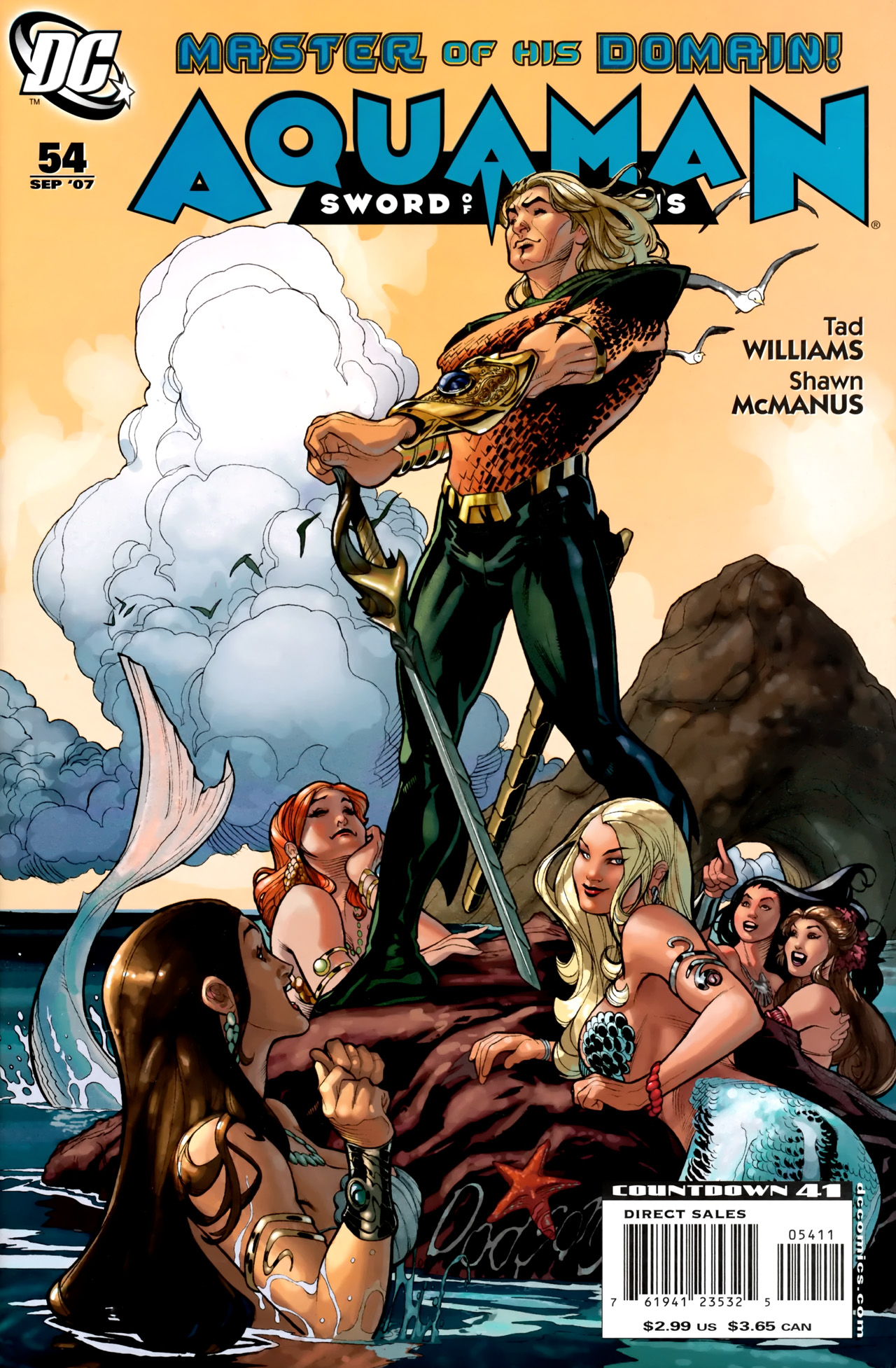 Aquaman: Sword of Atlantis 54 Page 1