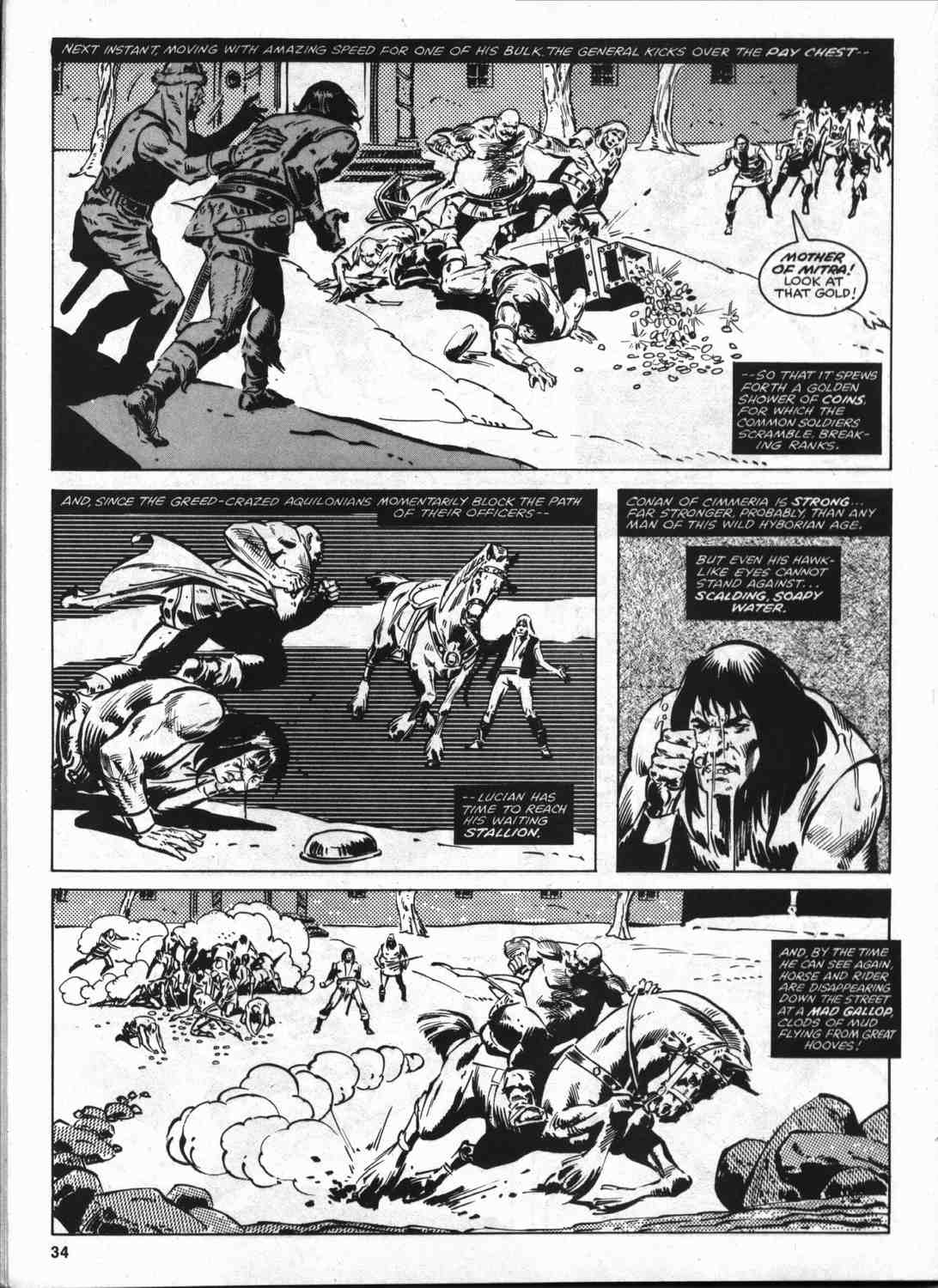 The Savage Sword Of Conan Issue #46 #47 - English 33